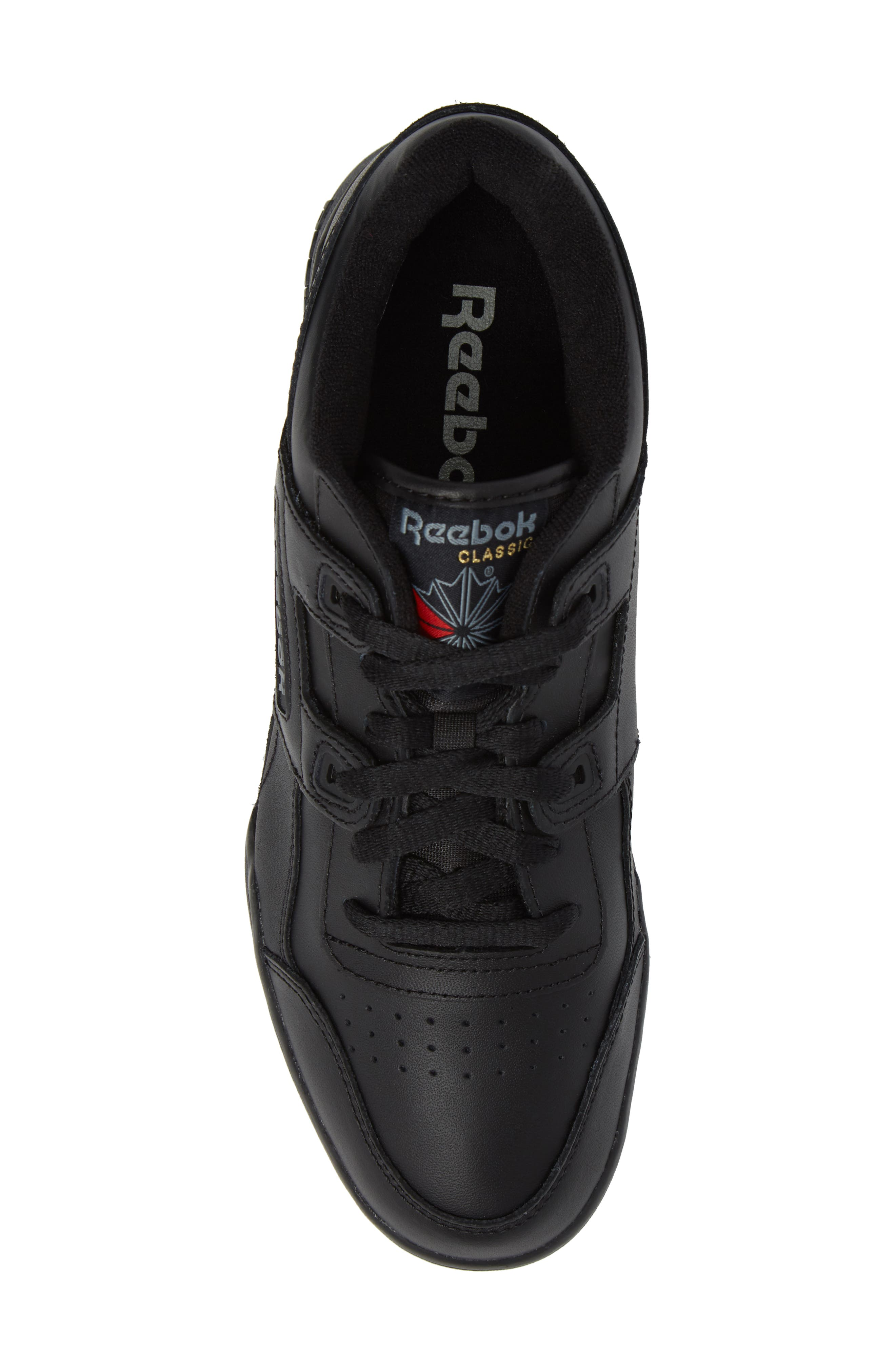 Workout Plus Sneaker,                             Alternate thumbnail 5, color,                             Black/ Charcoal