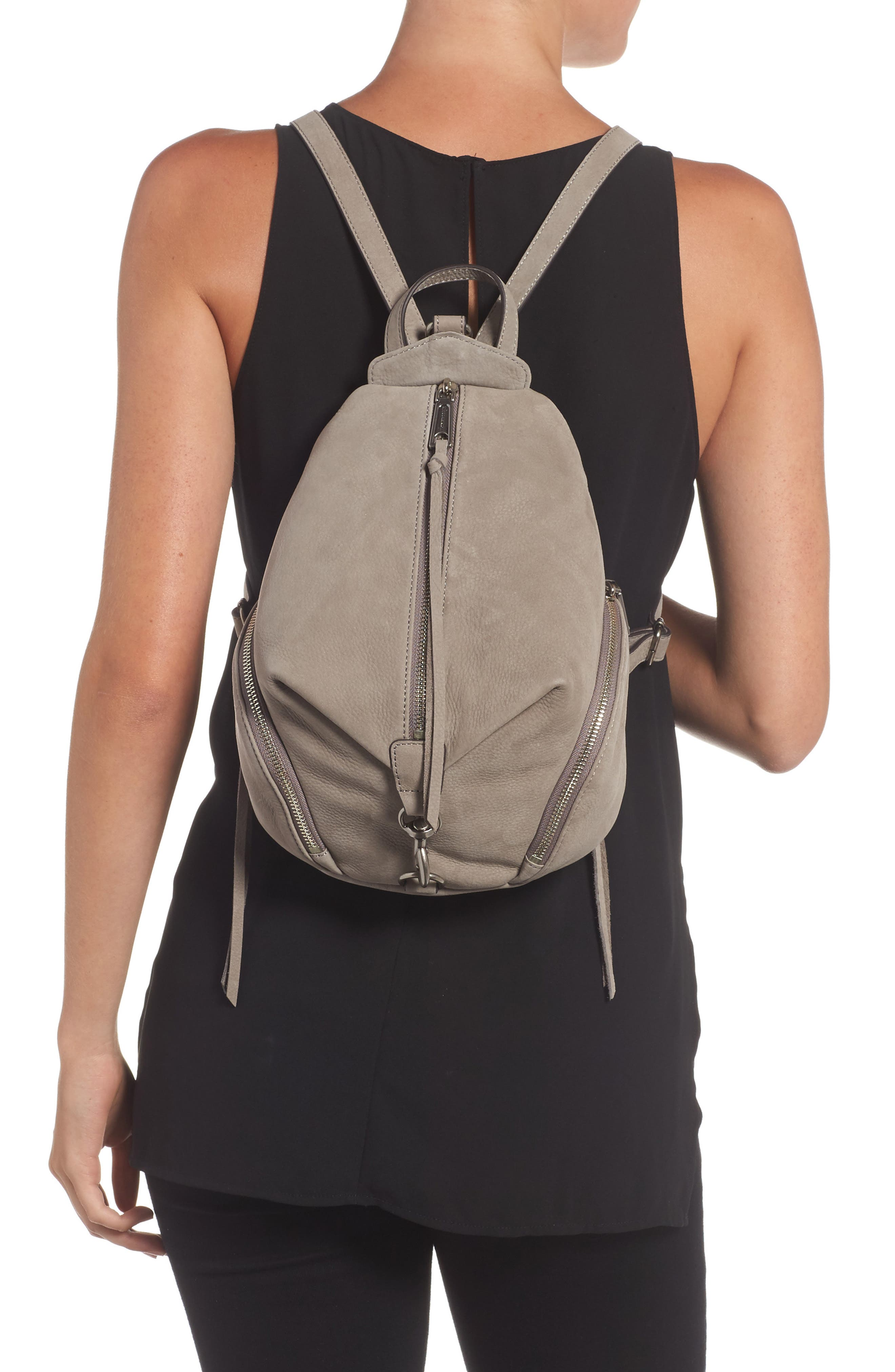 Medium Julian Backpack,                             Alternate thumbnail 2, color,                             Grey