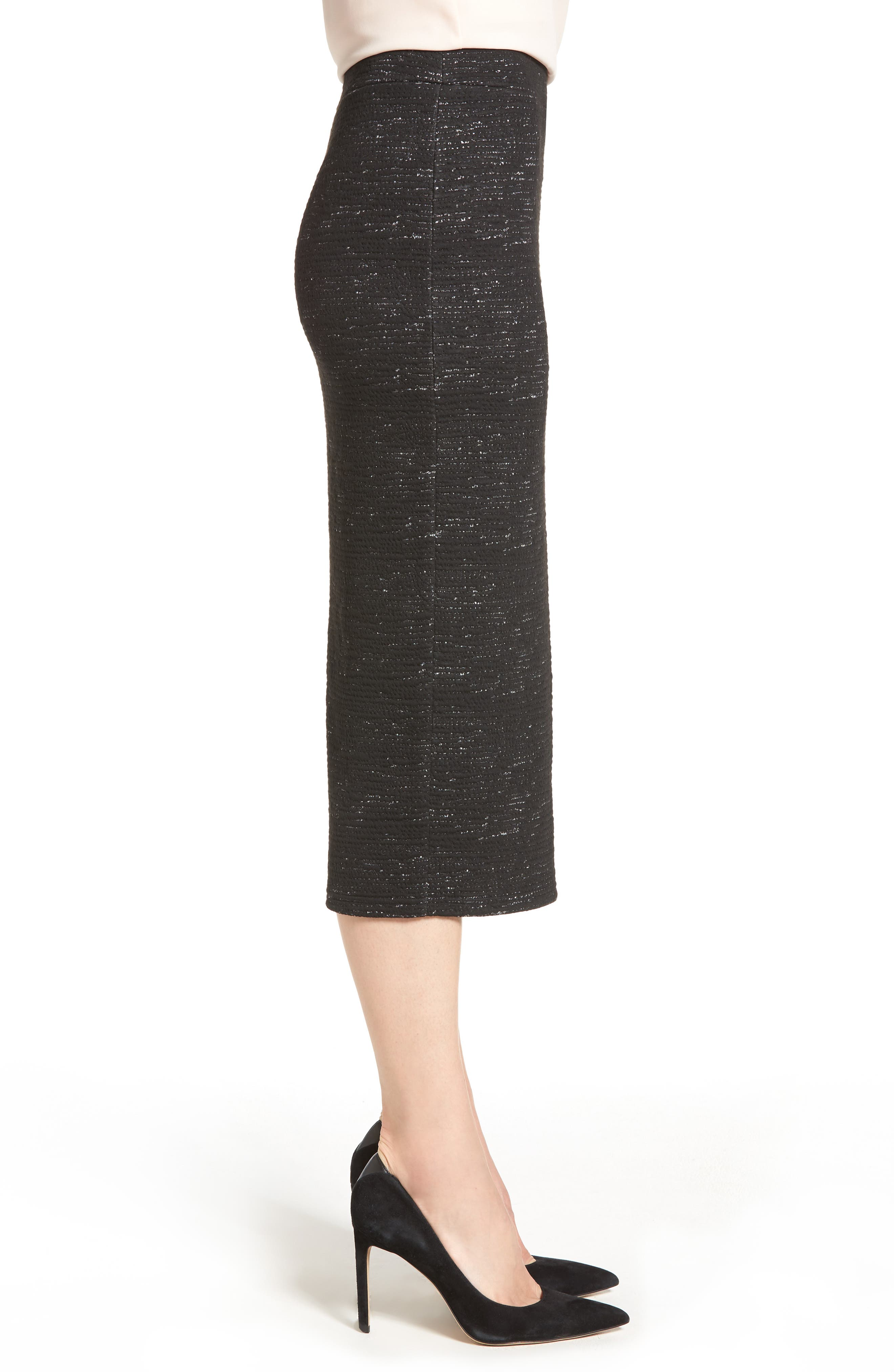 Alternate Image 3  - Halogen® Jacquard Pencil Skirt