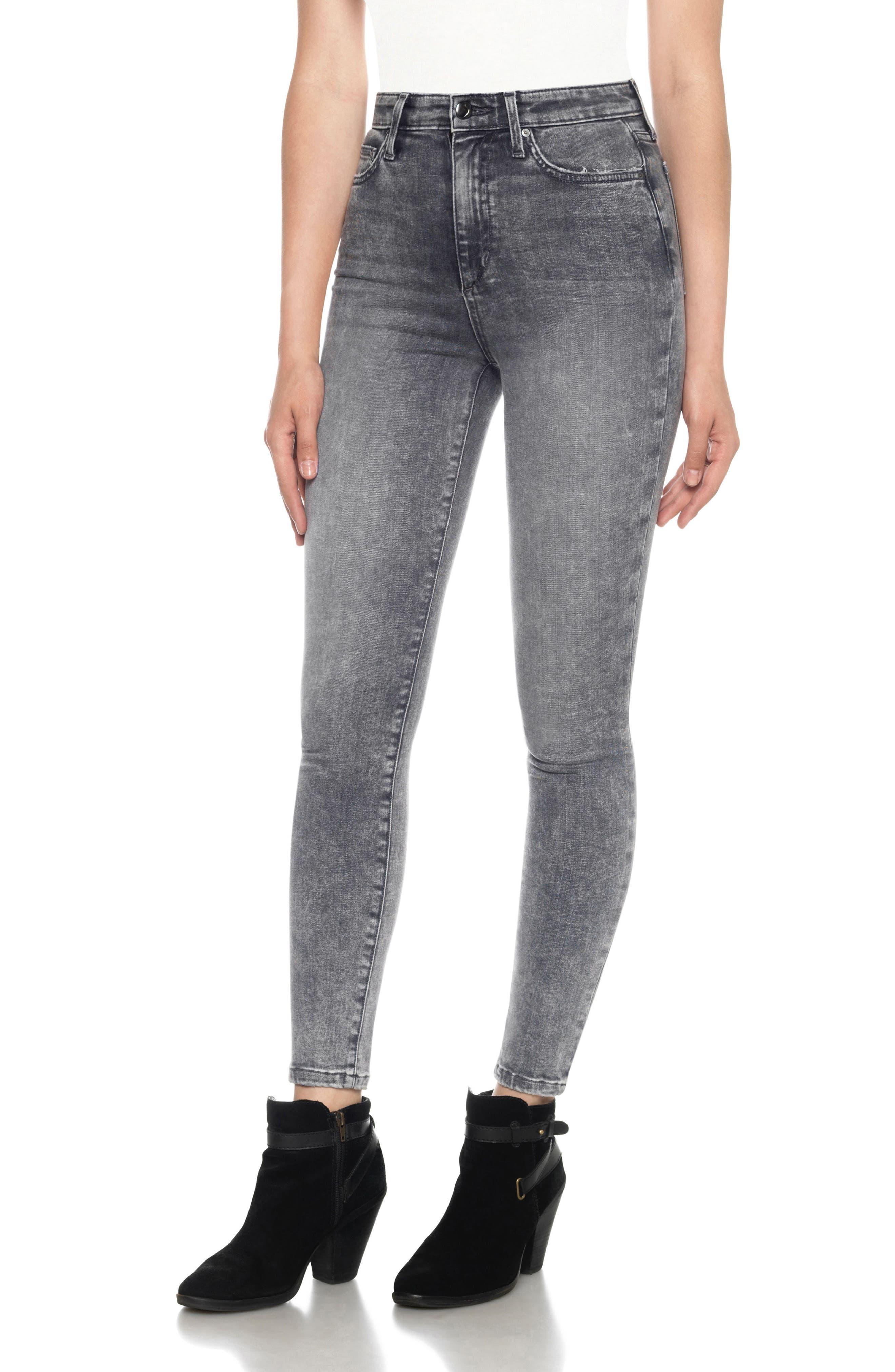 Joe's Flawless - Charlie High Waist Ankle Skinny Jeans (Jana)