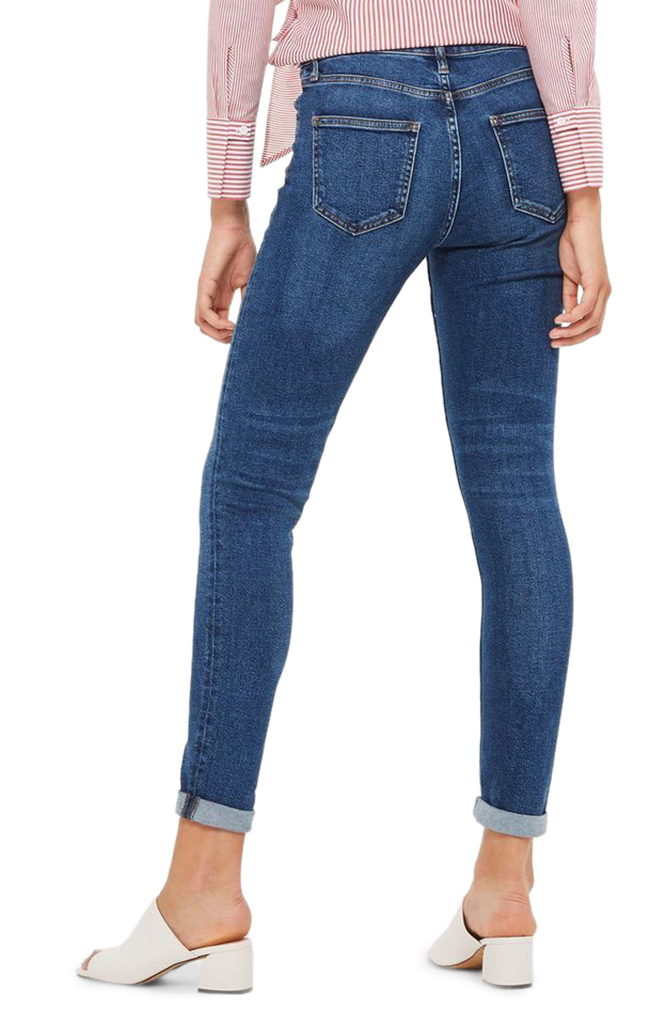 Alternate Image 3  - Topshop Lucas Relaxed Fit Jeans (Tall)