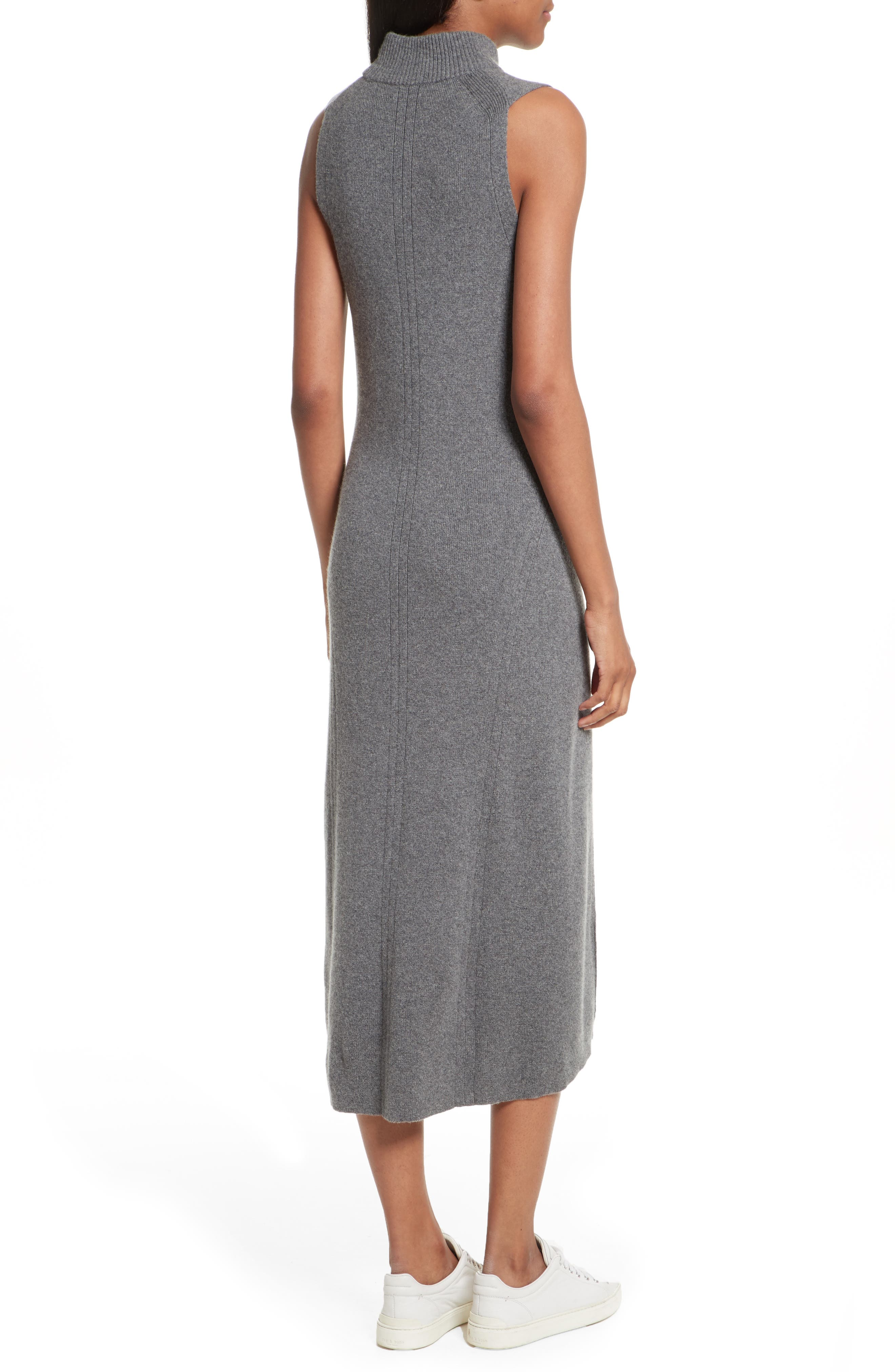 Alternate Image 4  - rag & bone Ace Cashmere Mock Neck Sweater Dress