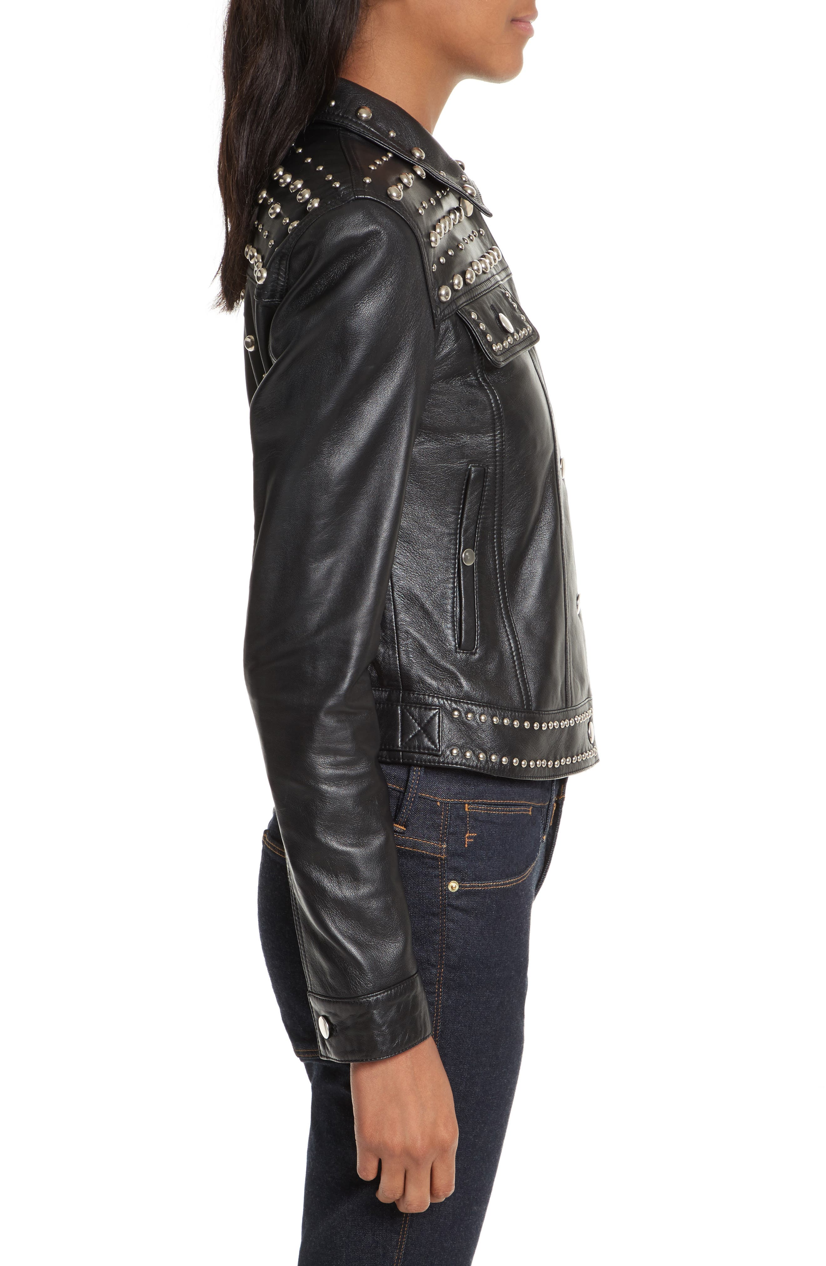 Alternate Image 3  - Rebecca Minkoff Annatto Leather Jacket