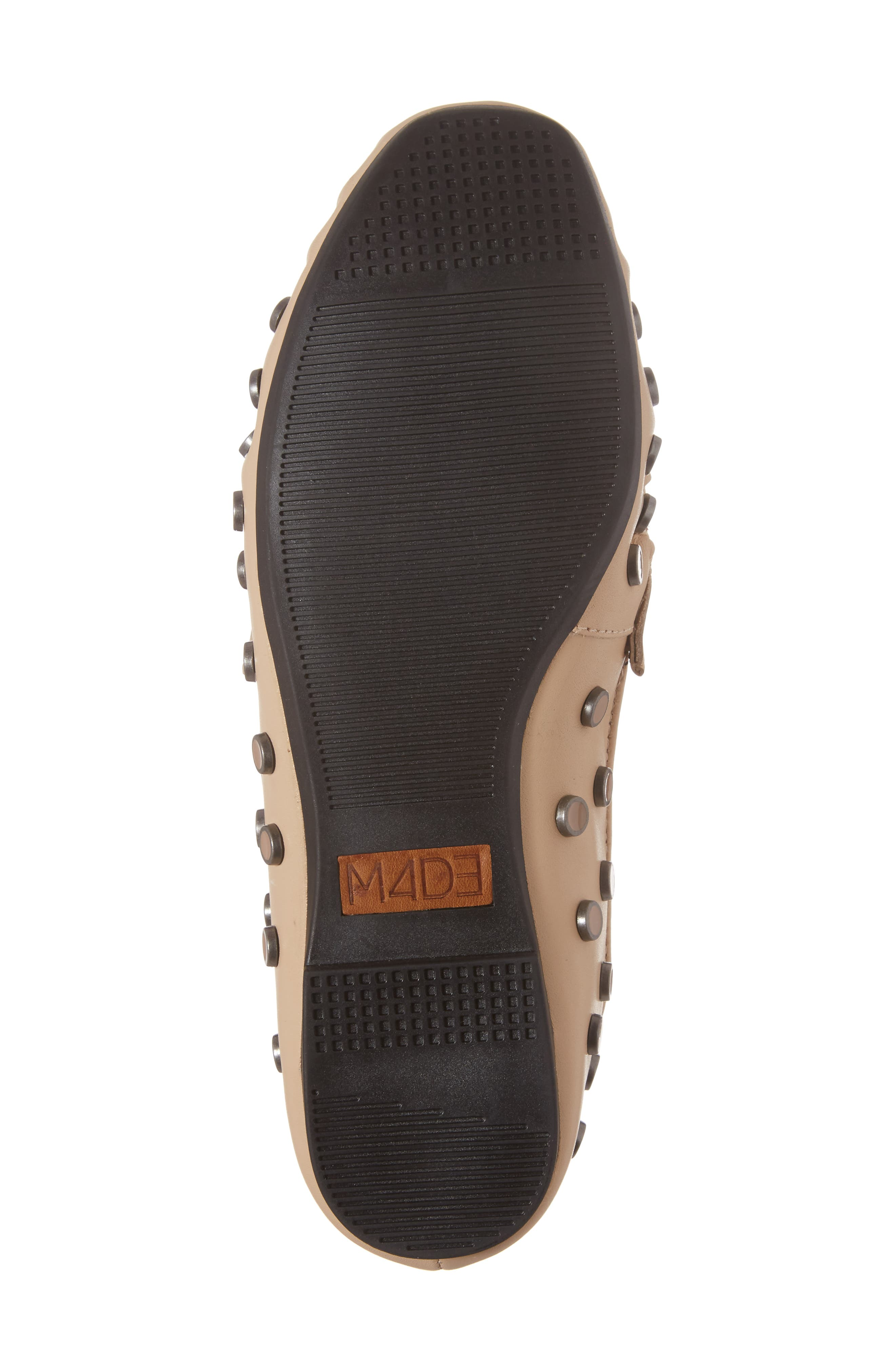 M4D3 Conneticut Loafer,                             Alternate thumbnail 6, color,                             Bisque Leather
