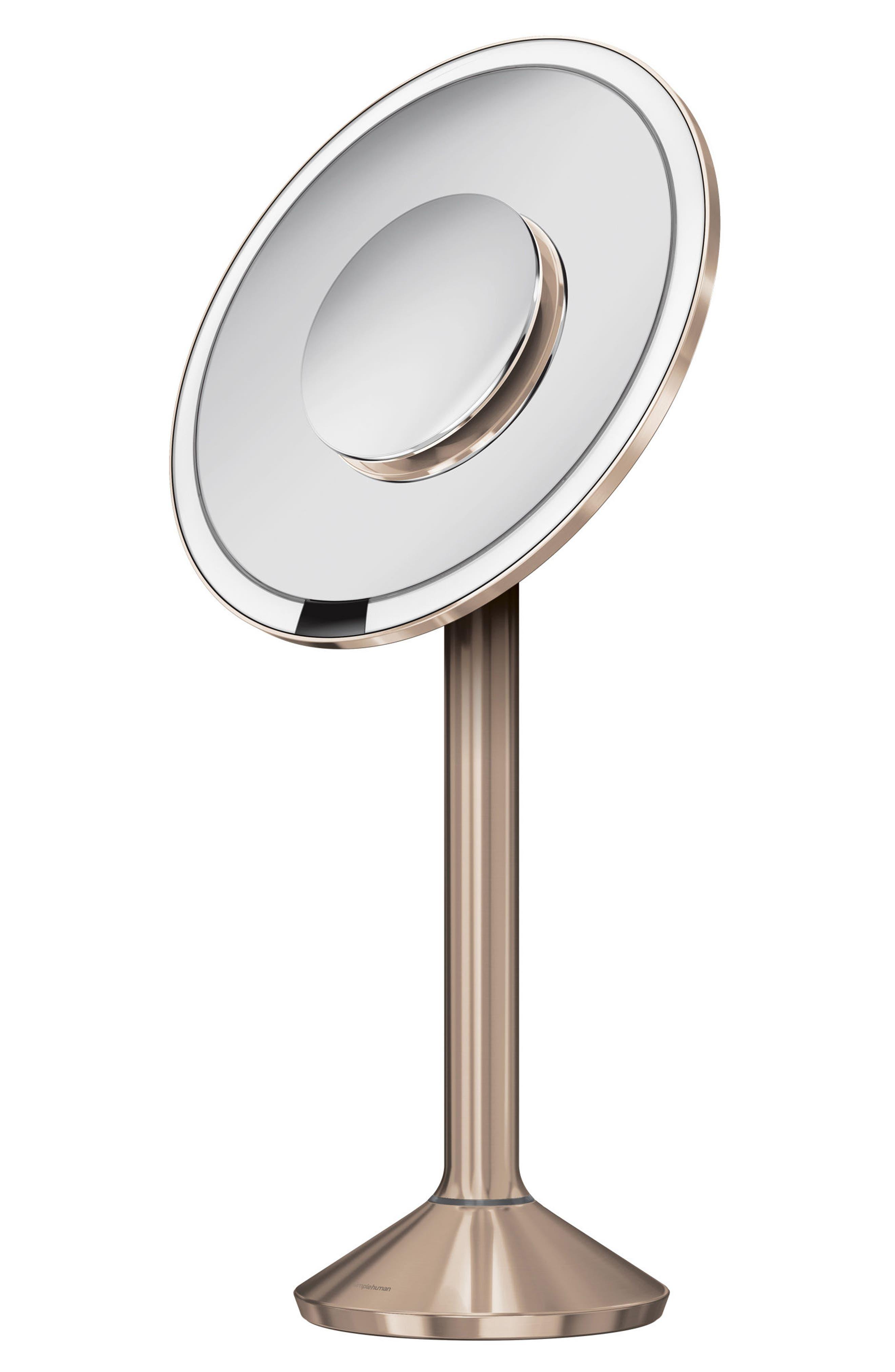 Alternate Image 3  - simplehuman Round Sensor Mirror Pro (8-Inch)