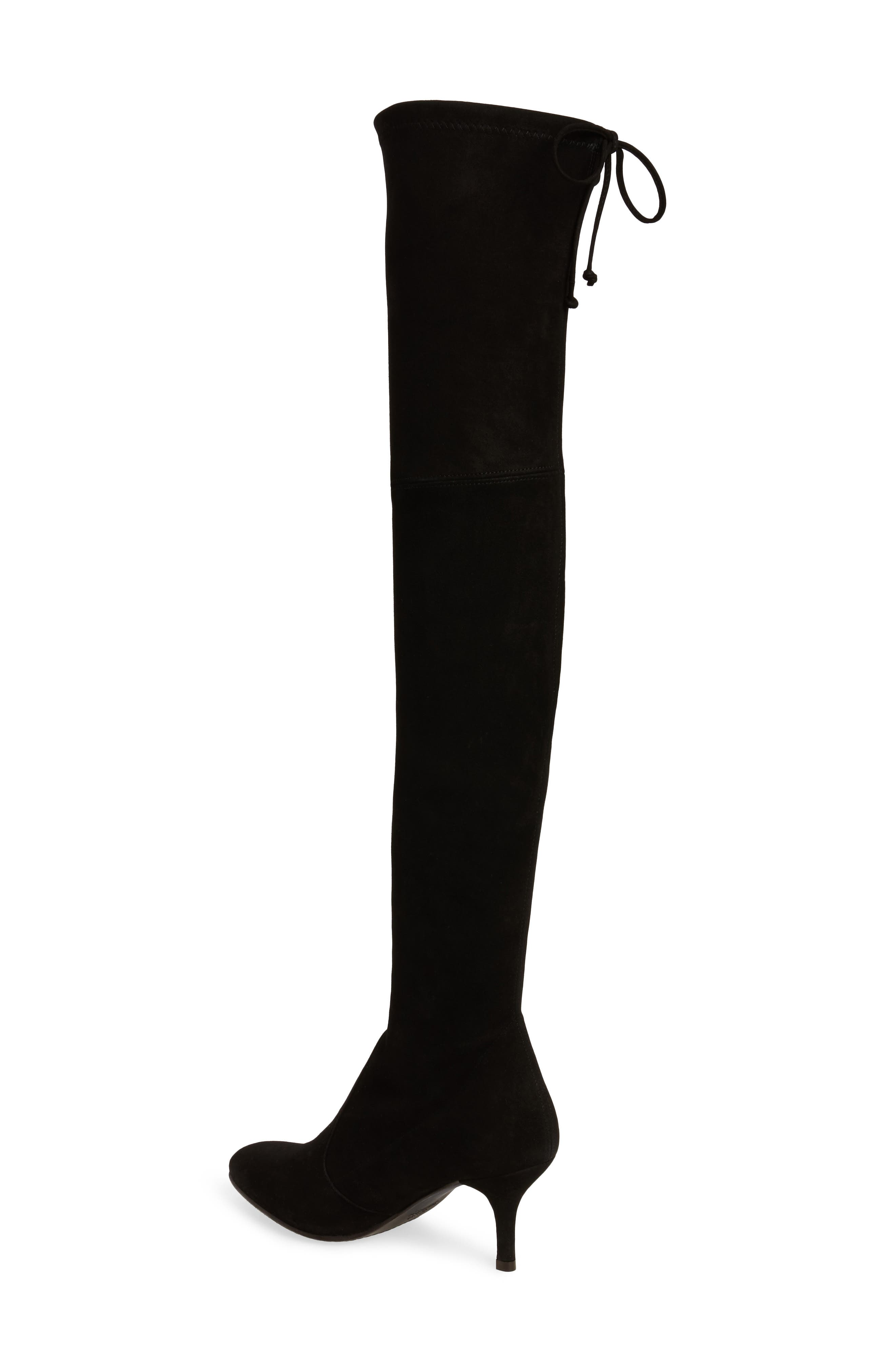 Alternate Image 2  - Stuart Weitzman Tiemodel Over the Knee Stretch Boot (Women)