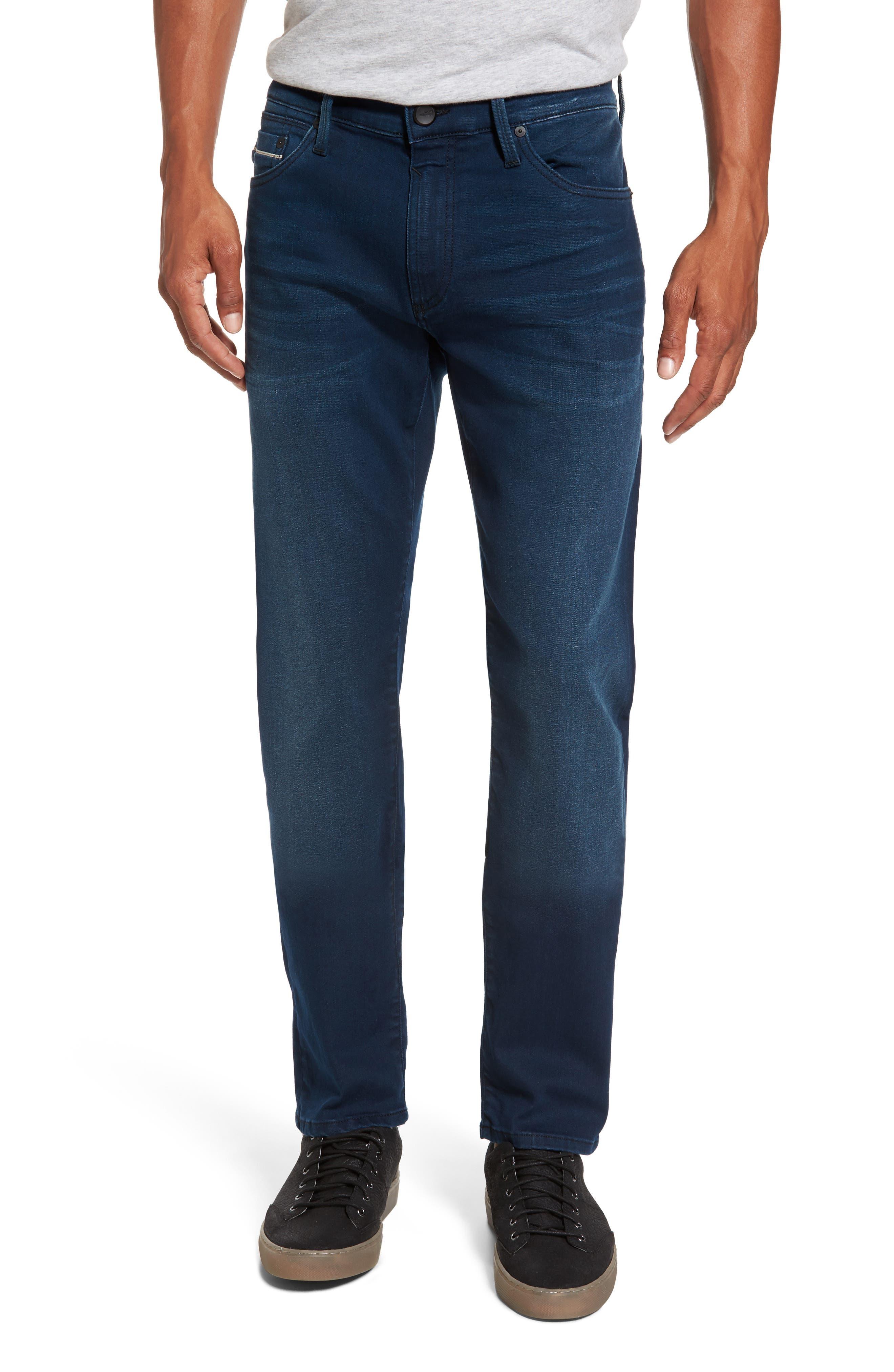 Jake Slim Fit Jeans,                             Main thumbnail 1, color,                             Ink Brushed Williamsburg