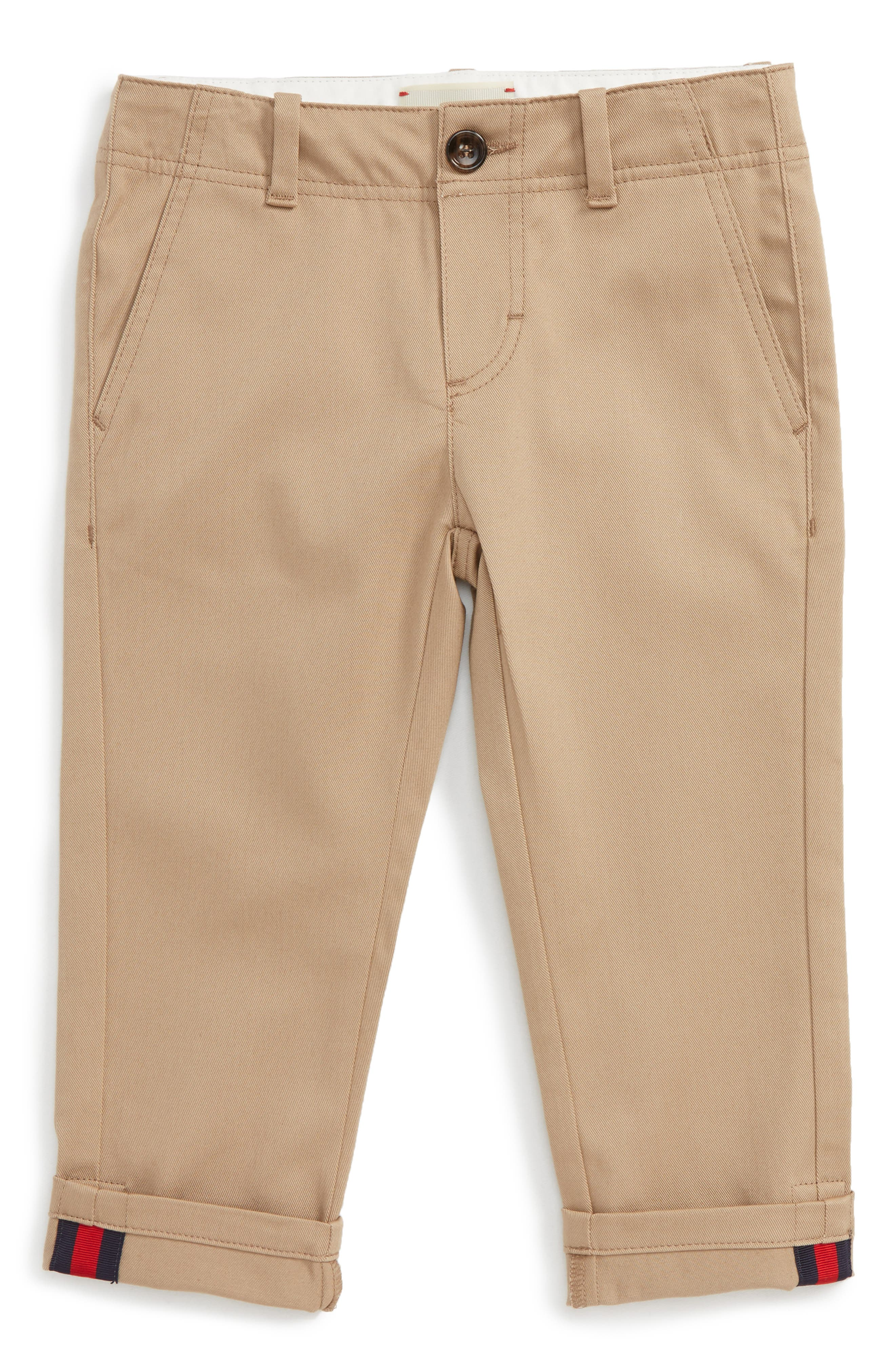 Alternate Image 1 Selected - Gucci Chino Pants (Baby Boys)