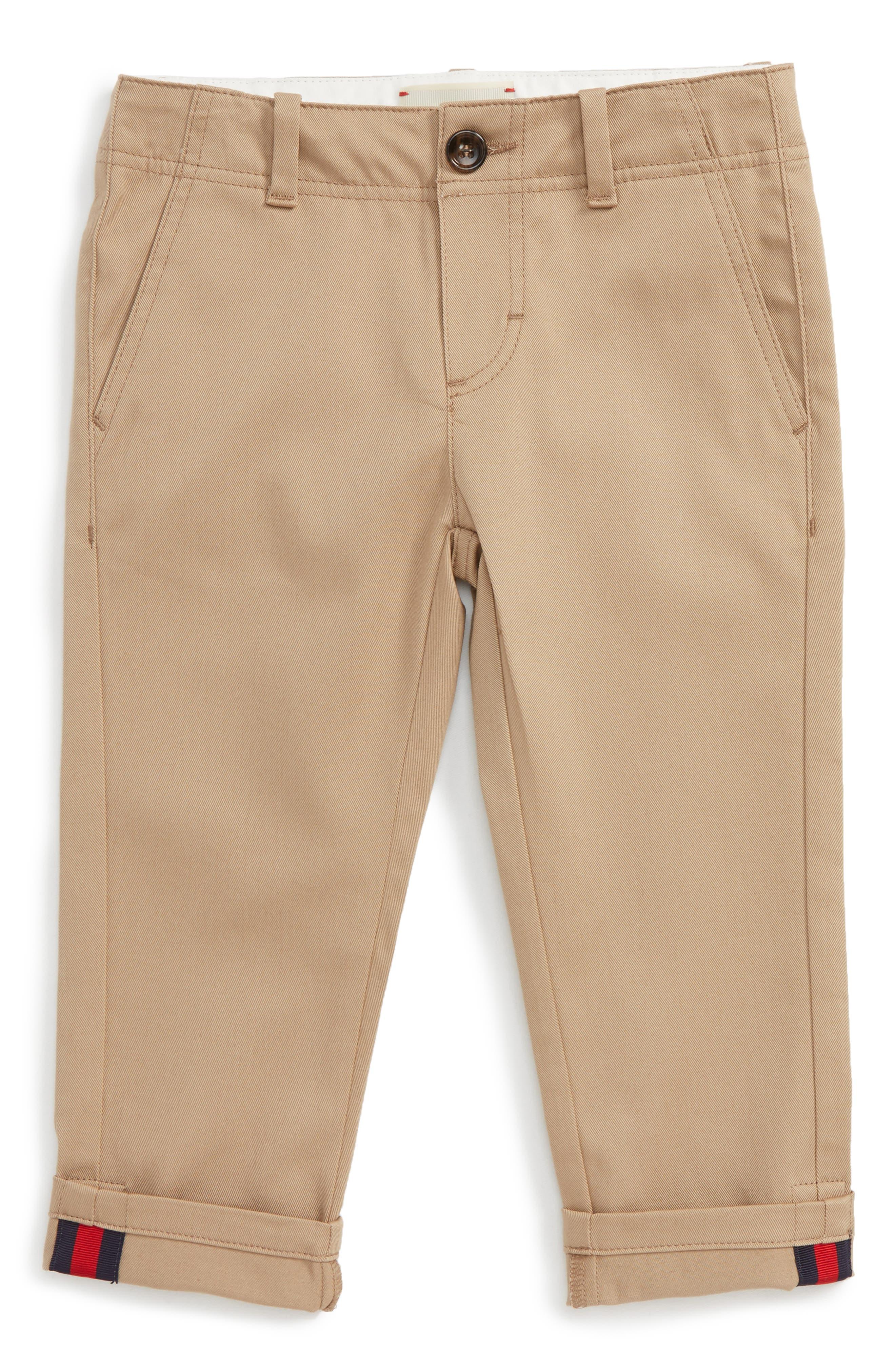 Chino Pants,                         Main,                         color, Ivory Multi