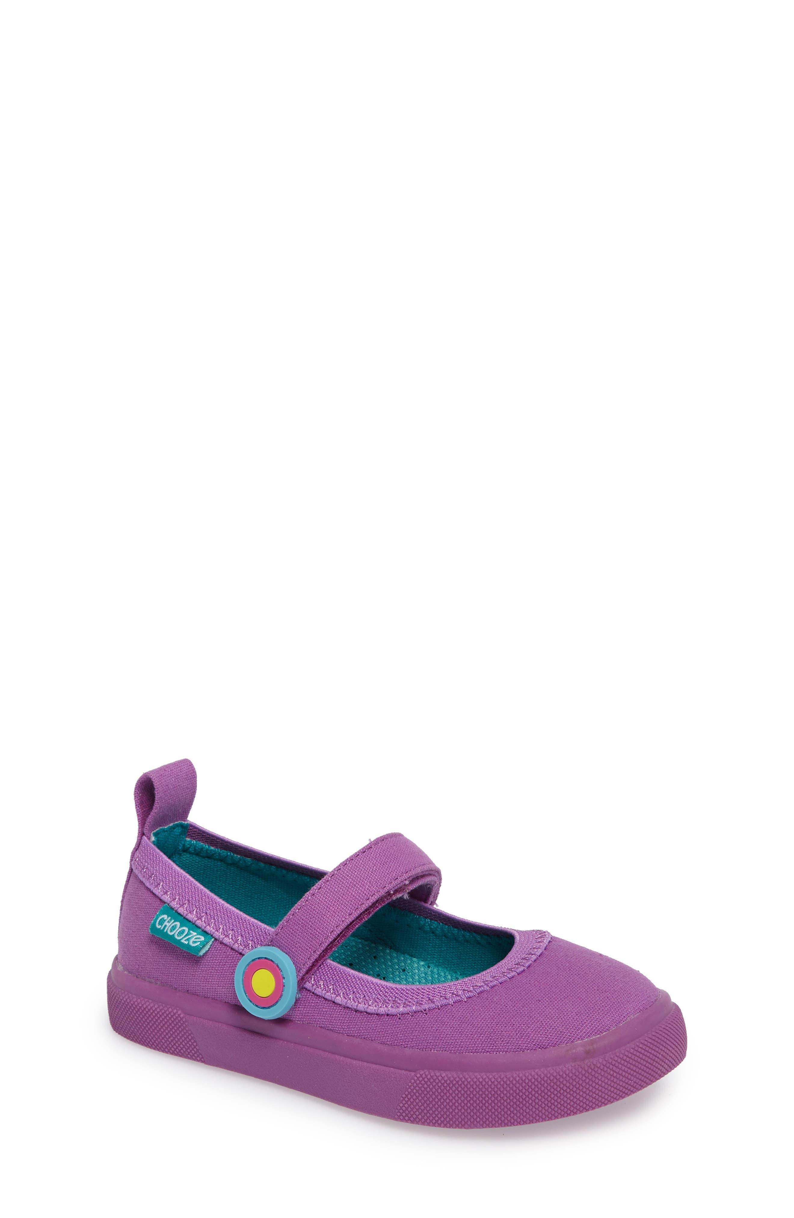 CHOOZE Skip Mary Jane Sneaker (Toddler)