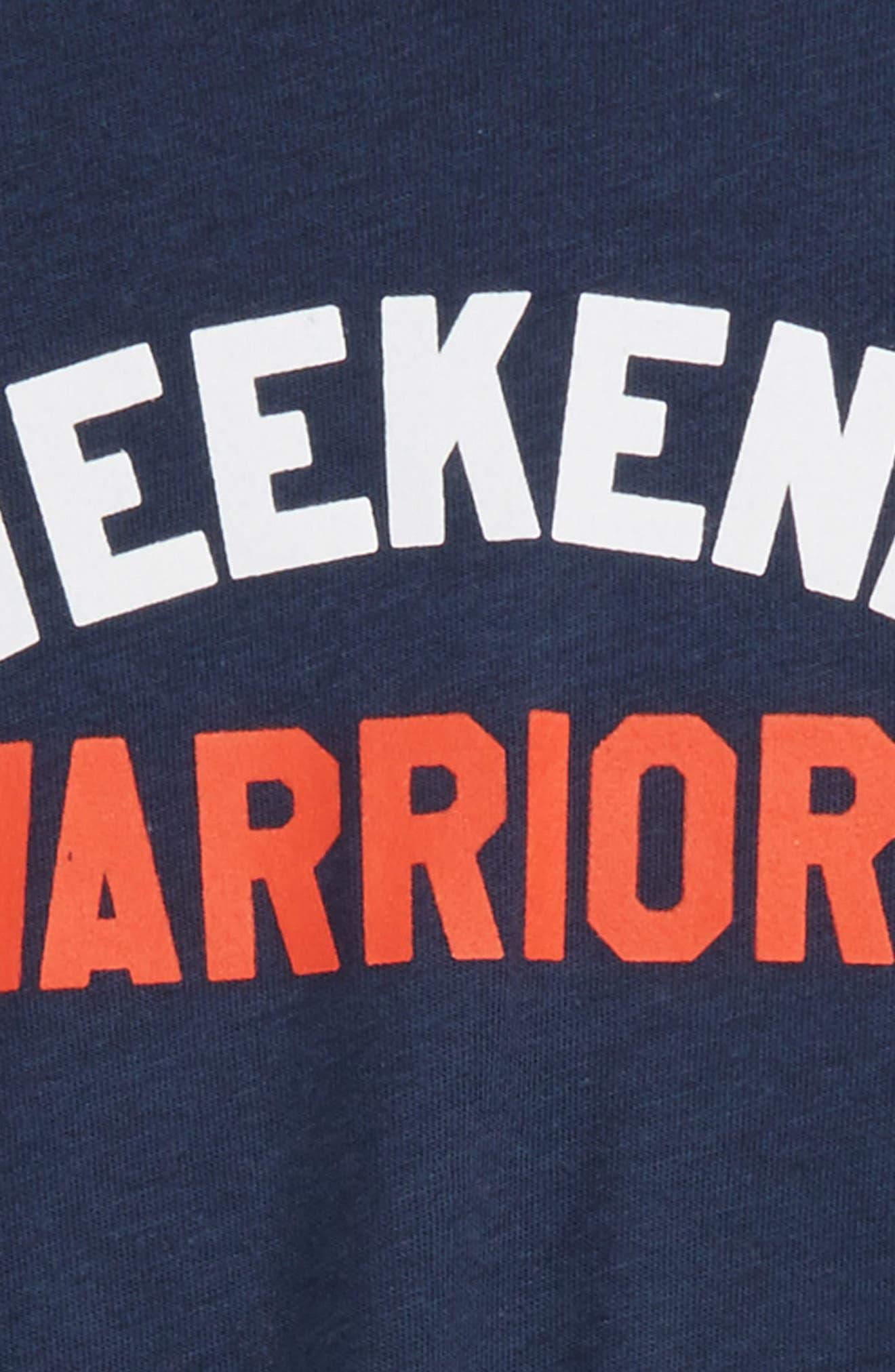 Weekend Warriors Tee,                             Alternate thumbnail 2, color,                             Navy