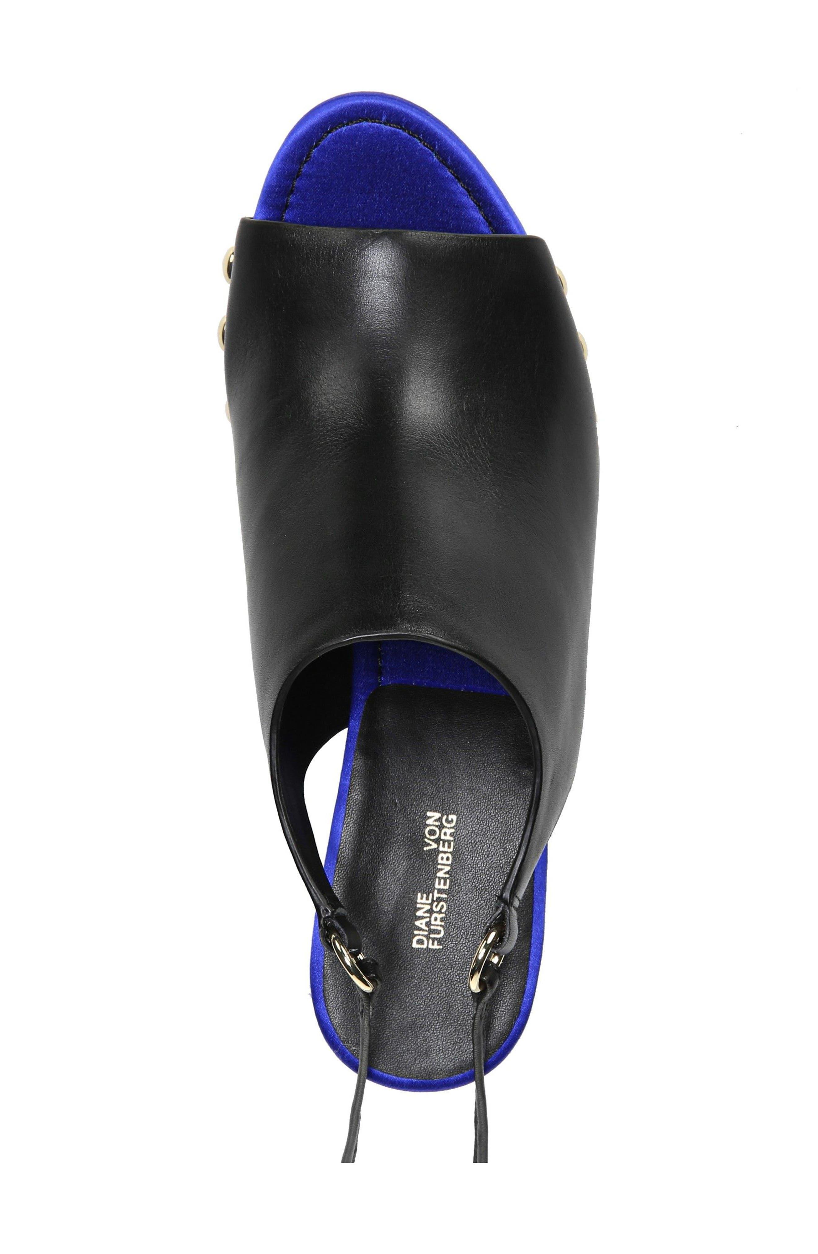 Alternate Image 5  - Diane Von Furstenberg Bali Wedge Sandal (Women)