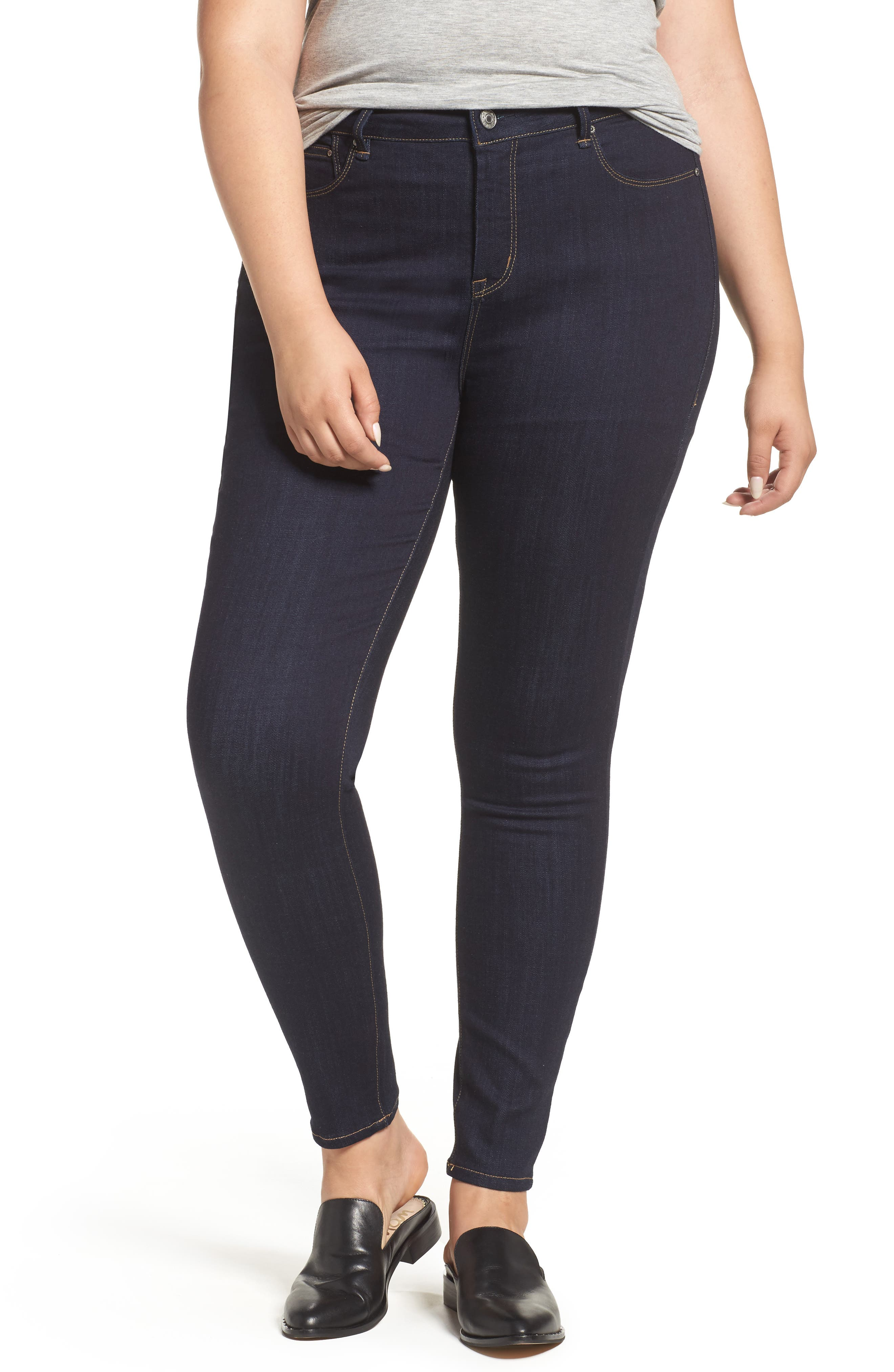 The Pin Up Super Skinny Jeans,                         Main,                         color, Bel-Air