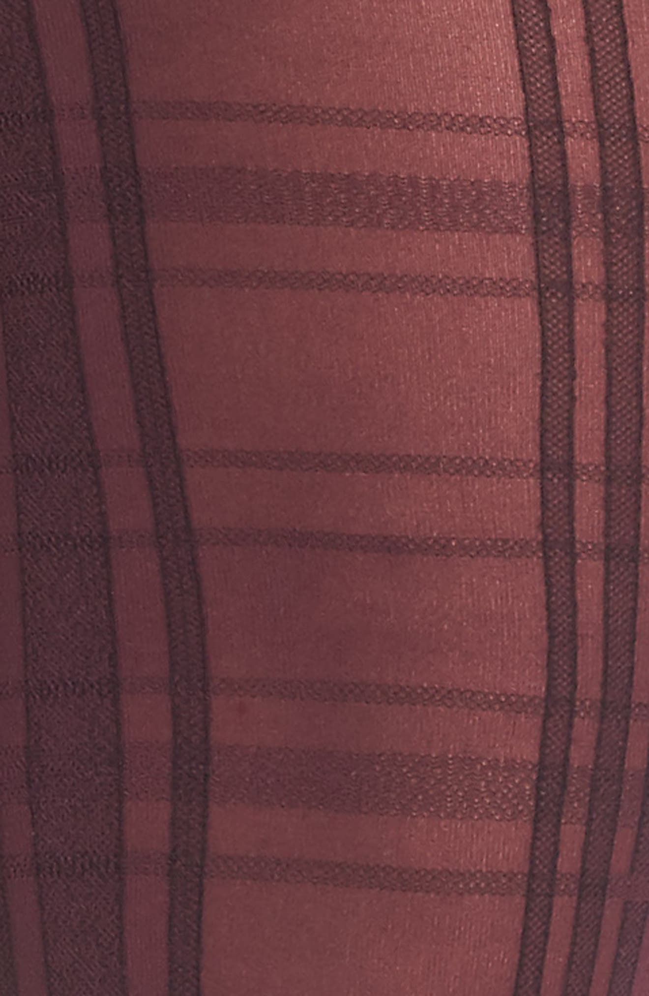 Alternate Image 2  - Hue Plaid Control Top Tights