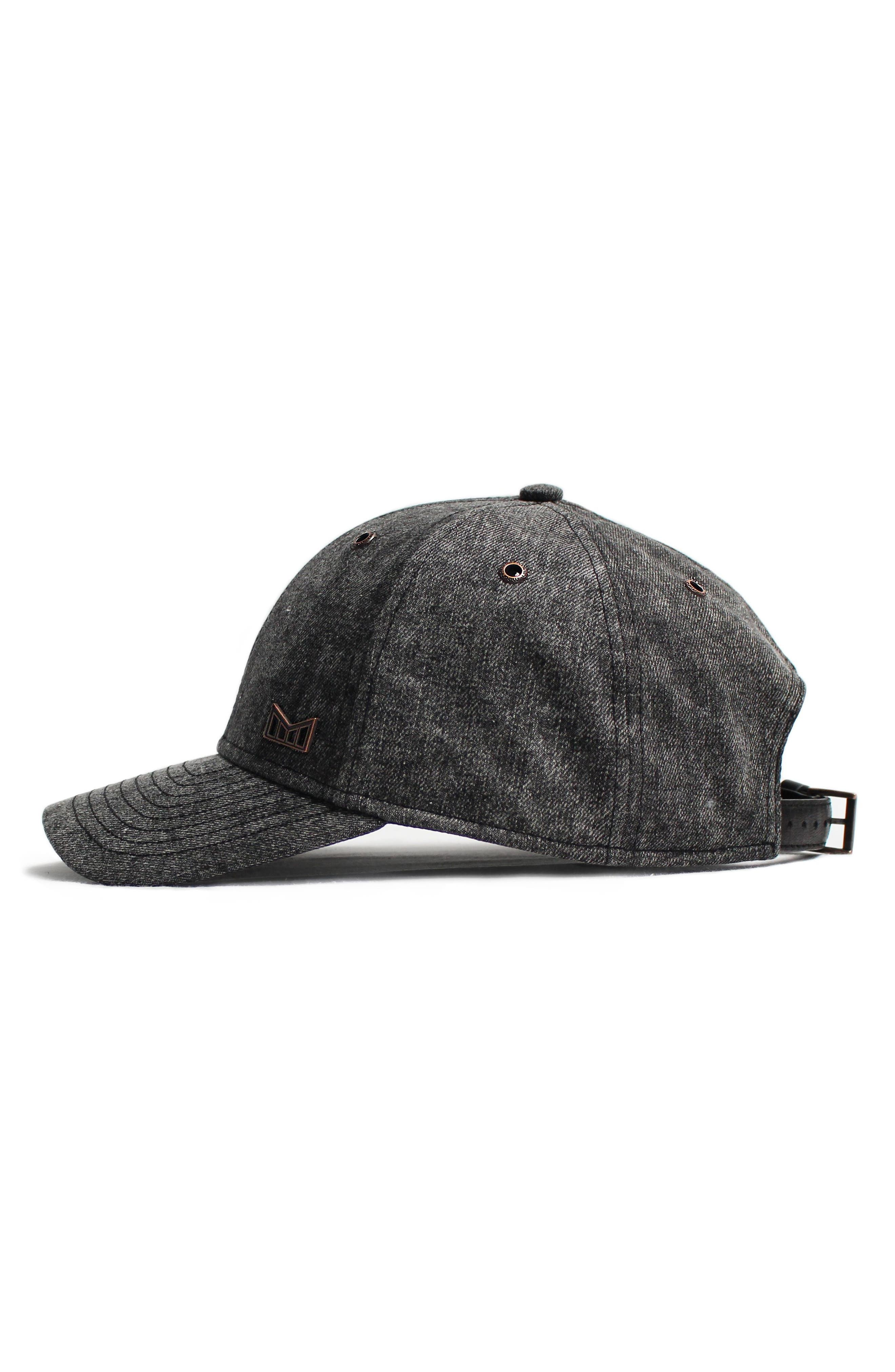 'The Haze' Vintage Fit Baseball Cap,                             Alternate thumbnail 4, color,                             Black
