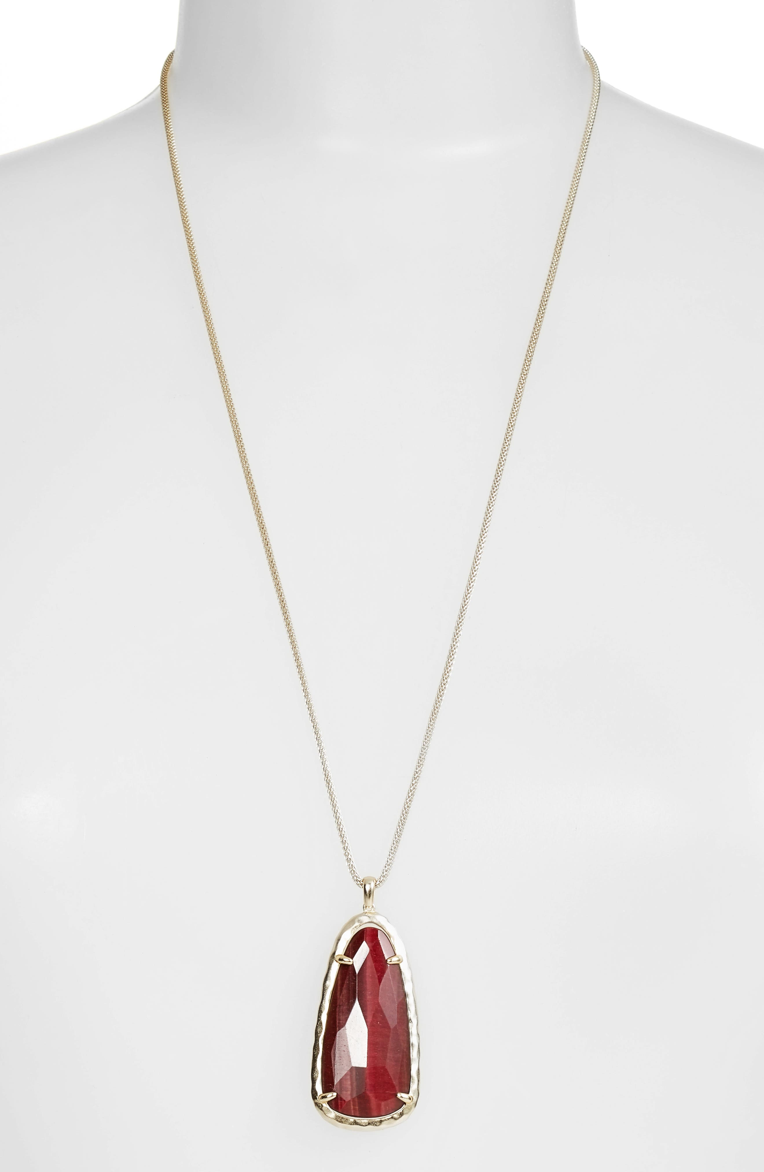 Alternate Image 1 Selected - Kendra Scott Saylor Pendant Necklace