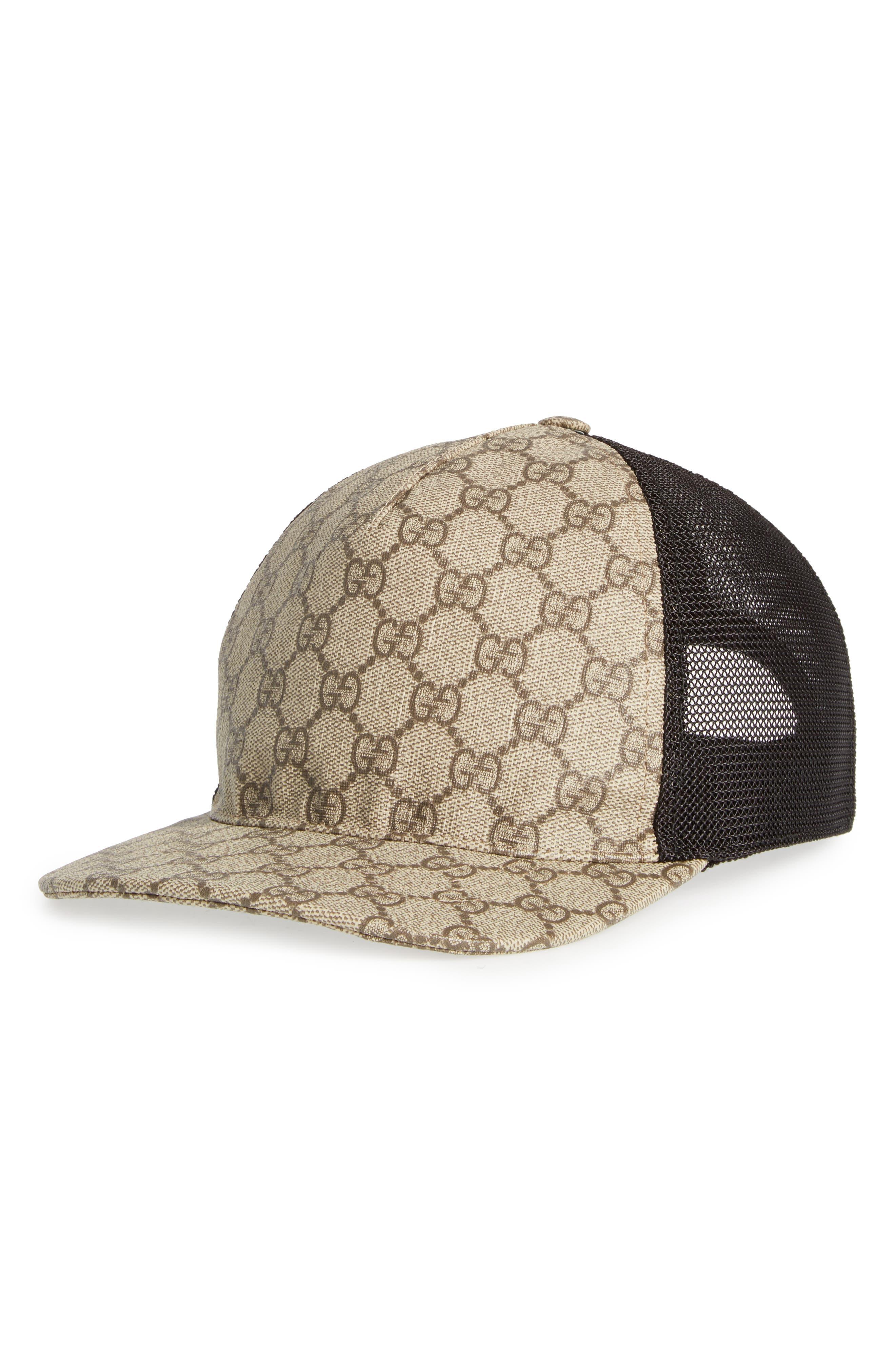 Gucci GG Supreme Trucker Cap