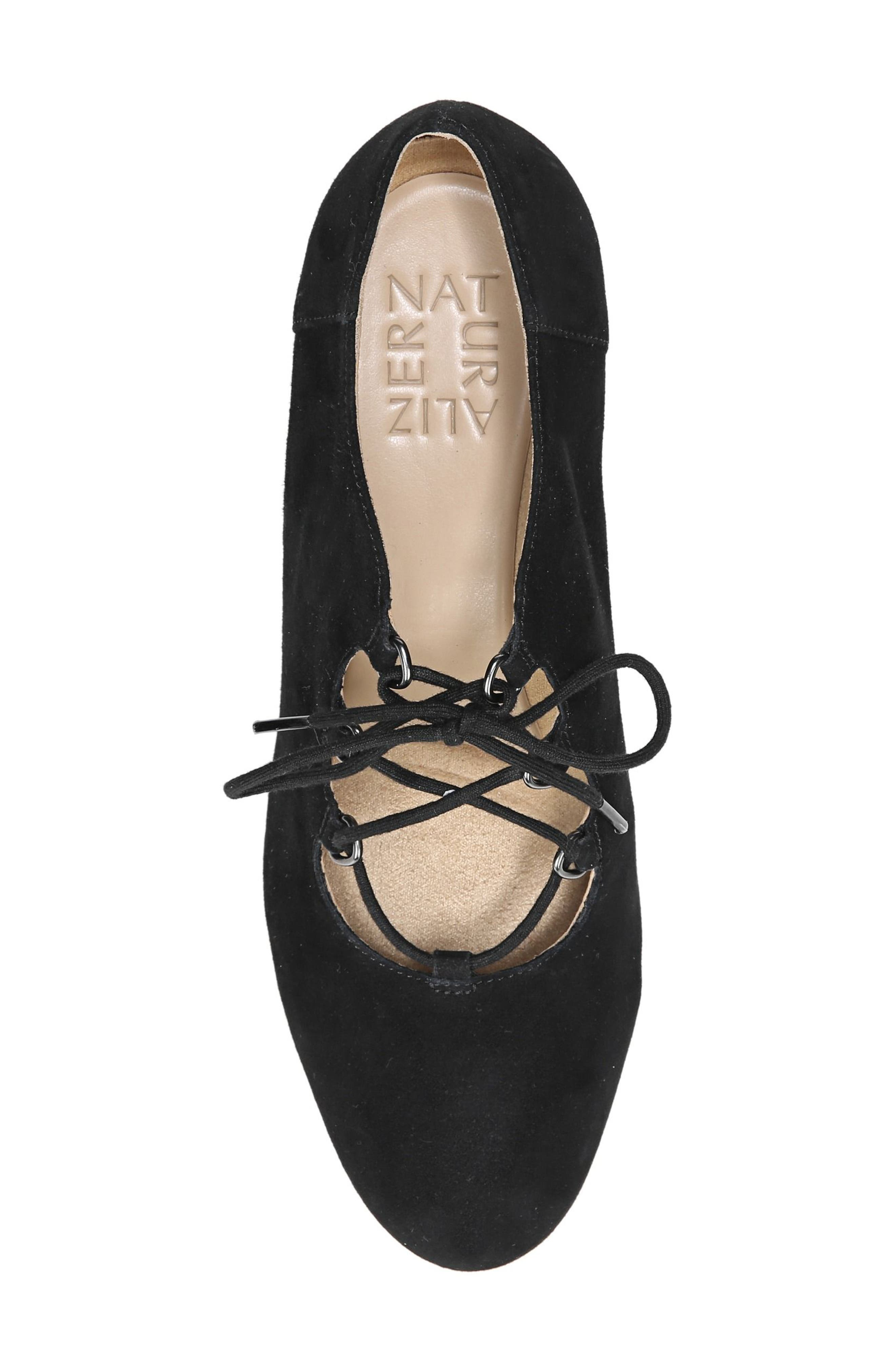 Alternate Image 5  - Naturalizer Macie Lace-Up Pump (Women)