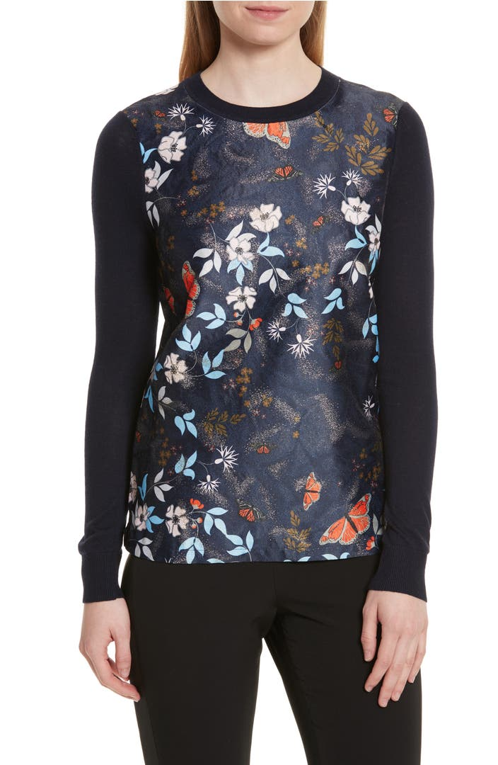 Ted Baker London сумка : Ted baker london khlo kyoto gardens jacquard sweater
