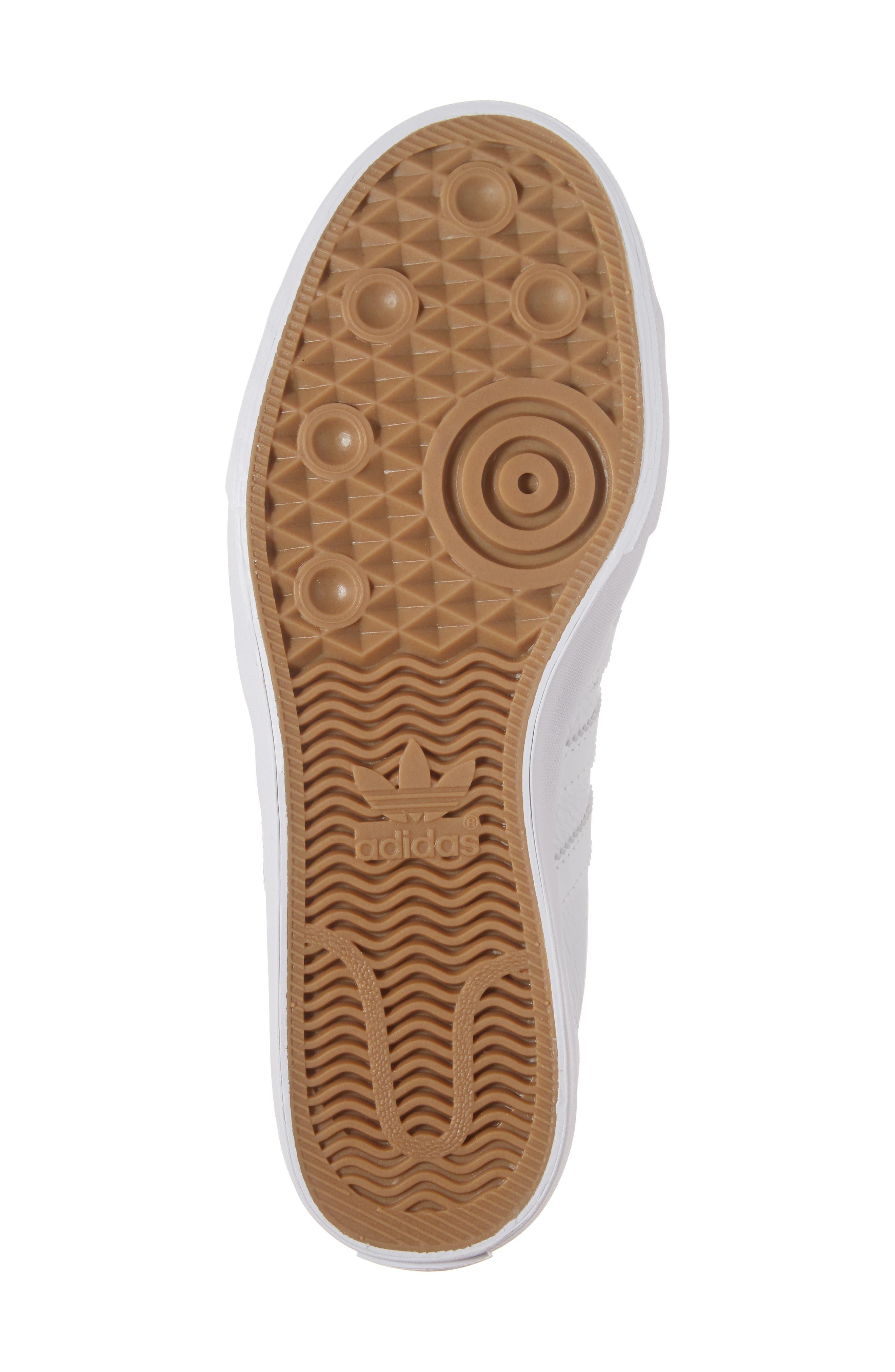 Matchcourt High Top Sneaker,                             Alternate thumbnail 6, color,                             White/ White/ White