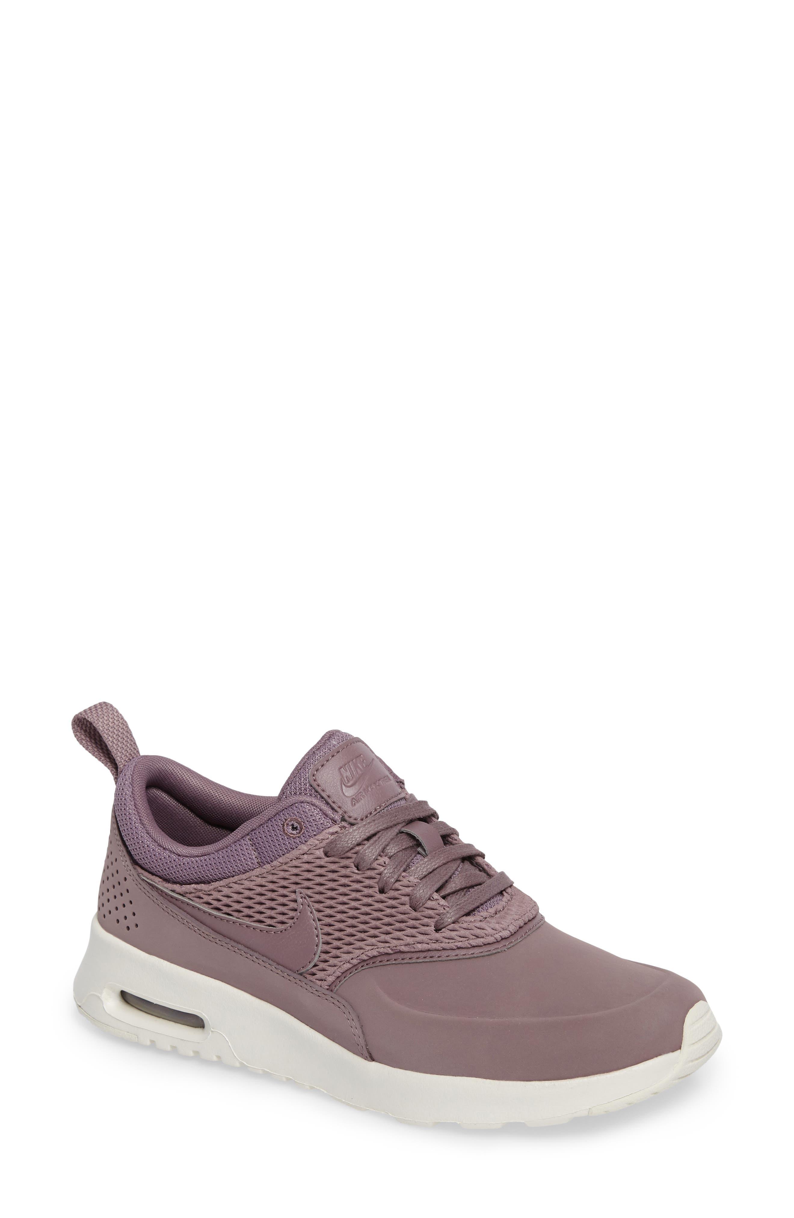 Alternate Image 1 Selected - Nike Air Max Thea Premium Sneaker (Women)