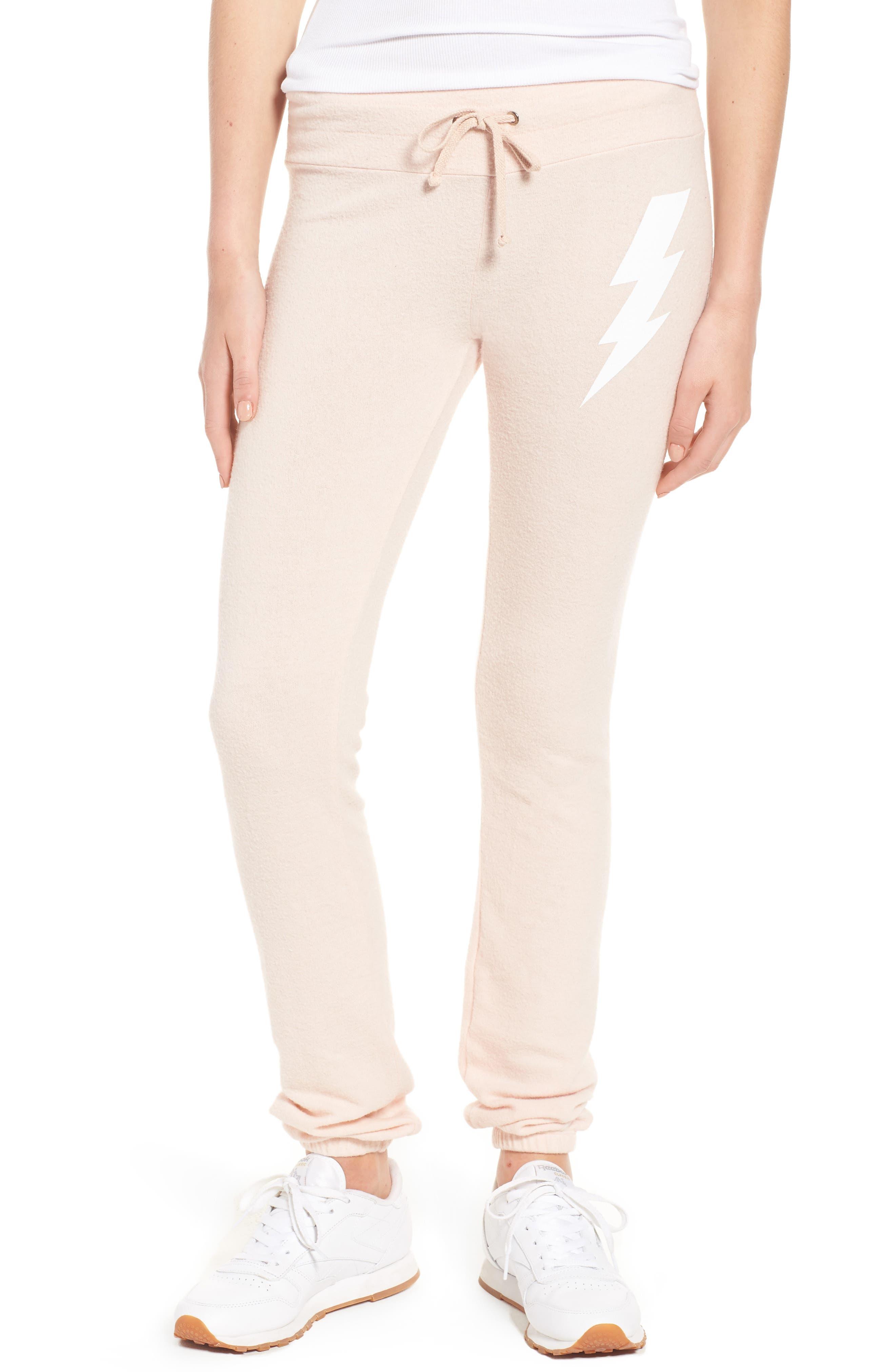 Girl Power Skinny Pants,                         Main,                         color, Rose