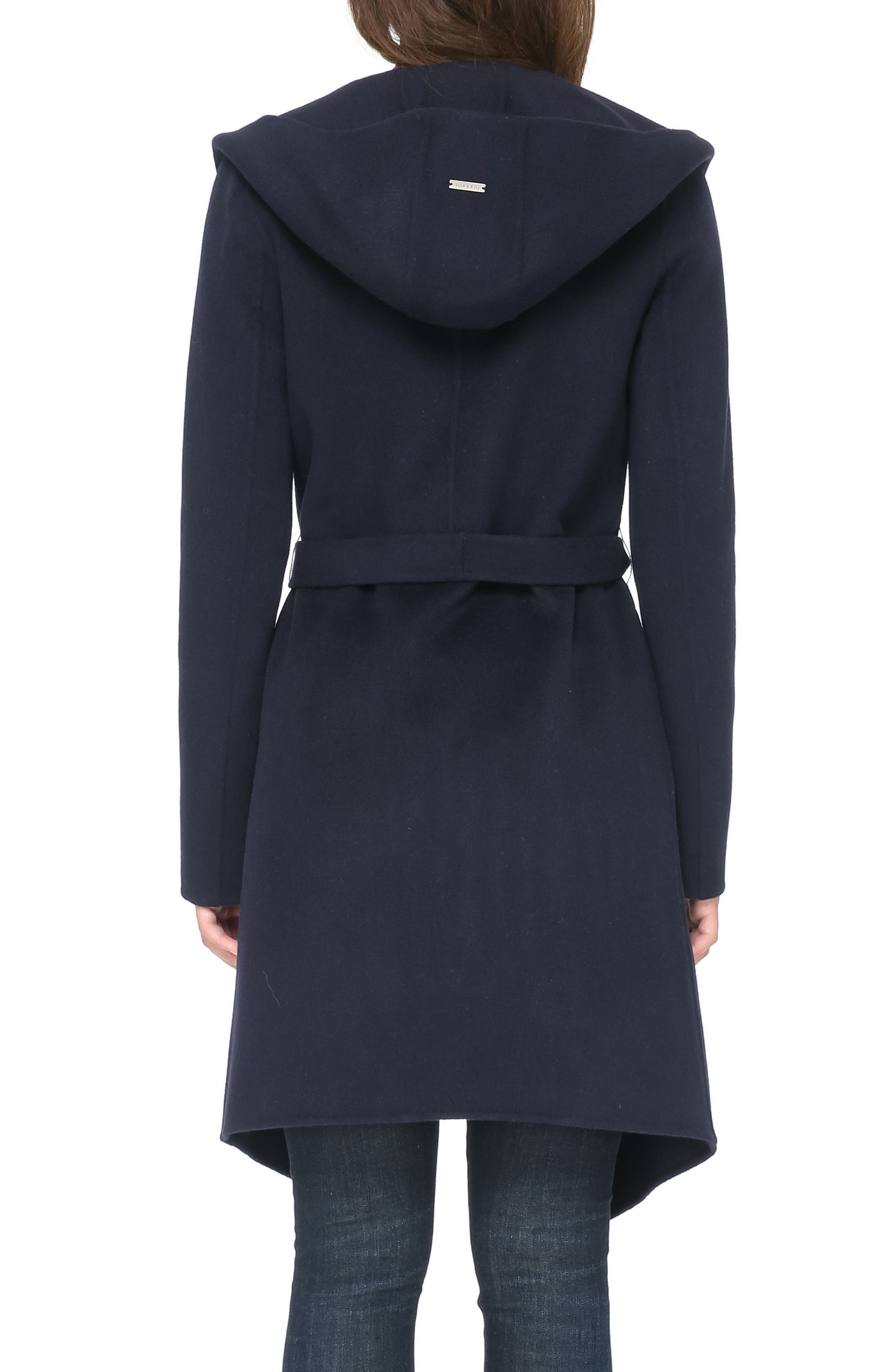 Alternate Image 2  - Soia & Kyo Reversible Double Face Wool Blend Coat