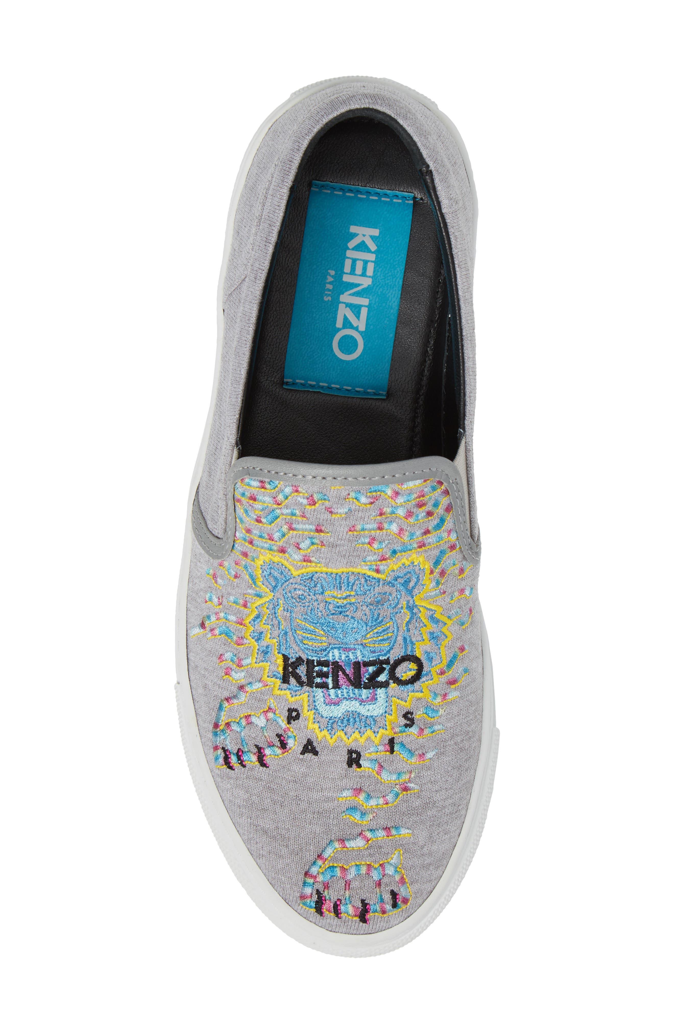 Alternate Image 5  - KENZO K Skate Embroidered Slip-On Sneaker (Women)