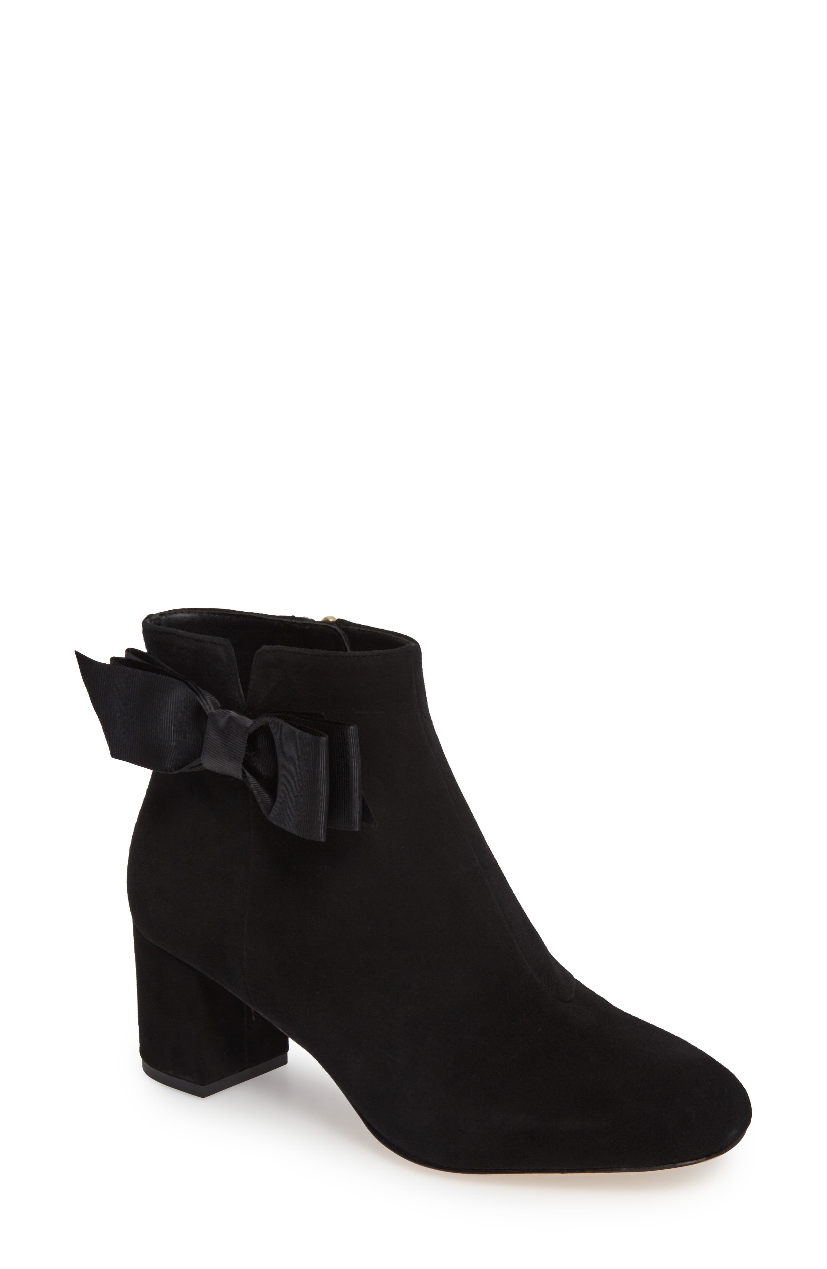 langley bow bootie,                         Main,                         color, Black