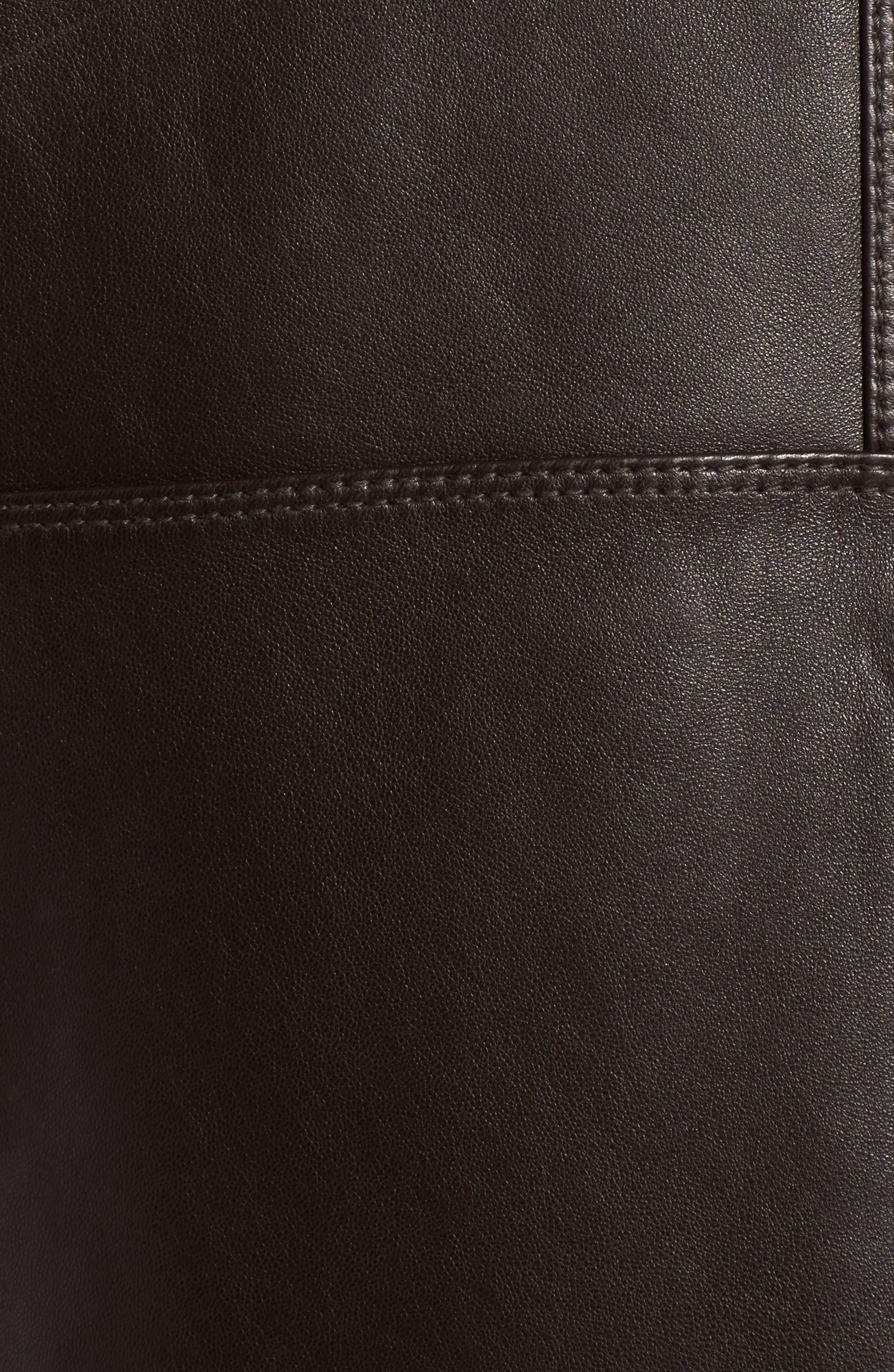 Alternate Image 6  - Andrew Marc Gibson Slim Leather Moto Jacket