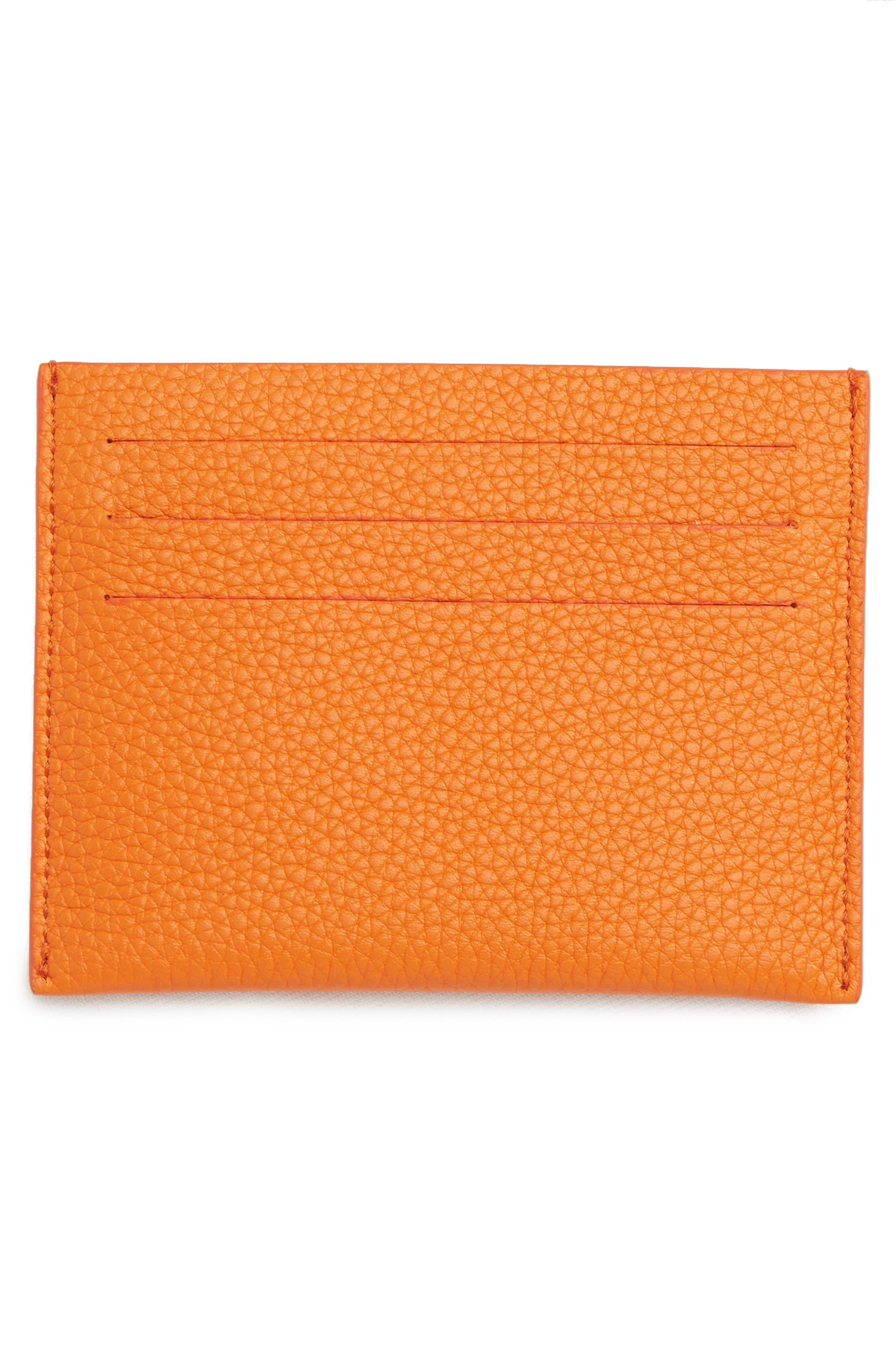 Alternate Image 2  - Givenchy Leather Card Case