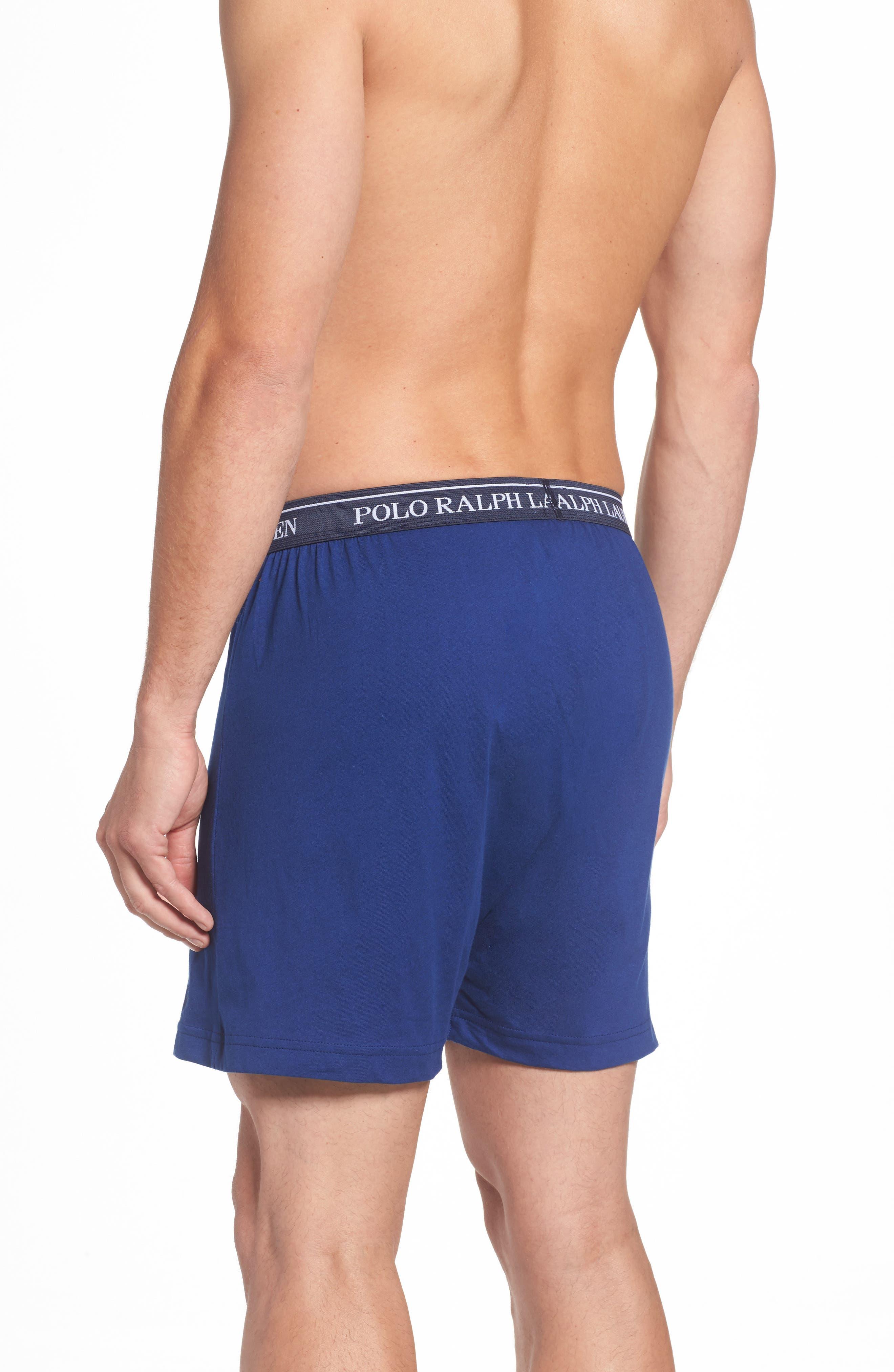 3-Pack Cotton Boxers,                             Alternate thumbnail 3, color,                             Club Royal Blue