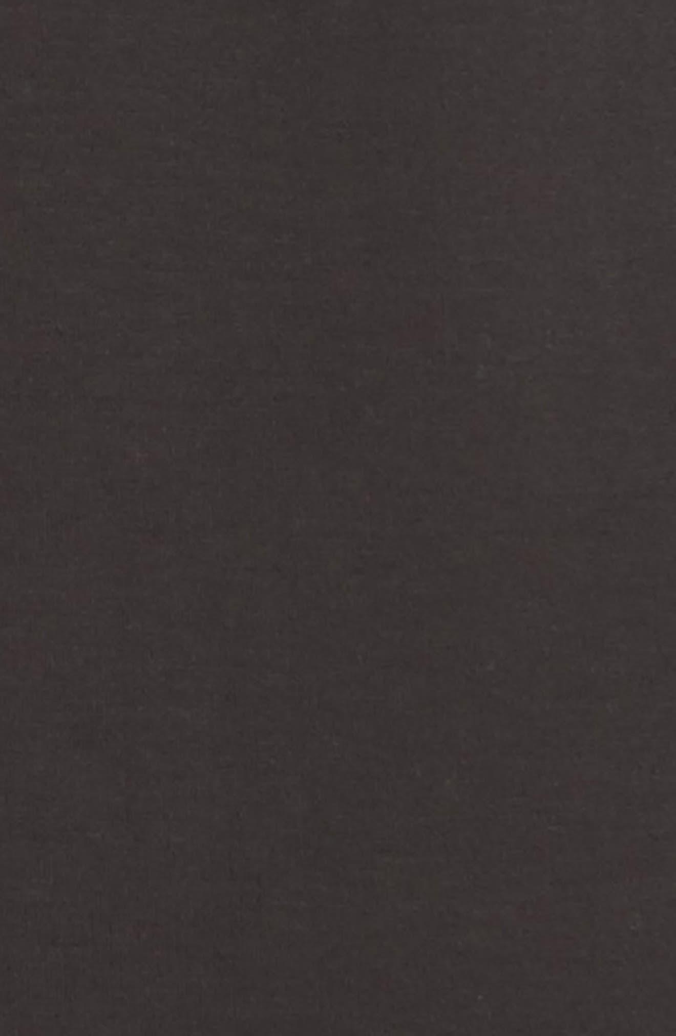 Studio Asymmetrical Zip Jacket,                             Alternate thumbnail 5, color,                             Black Onyx