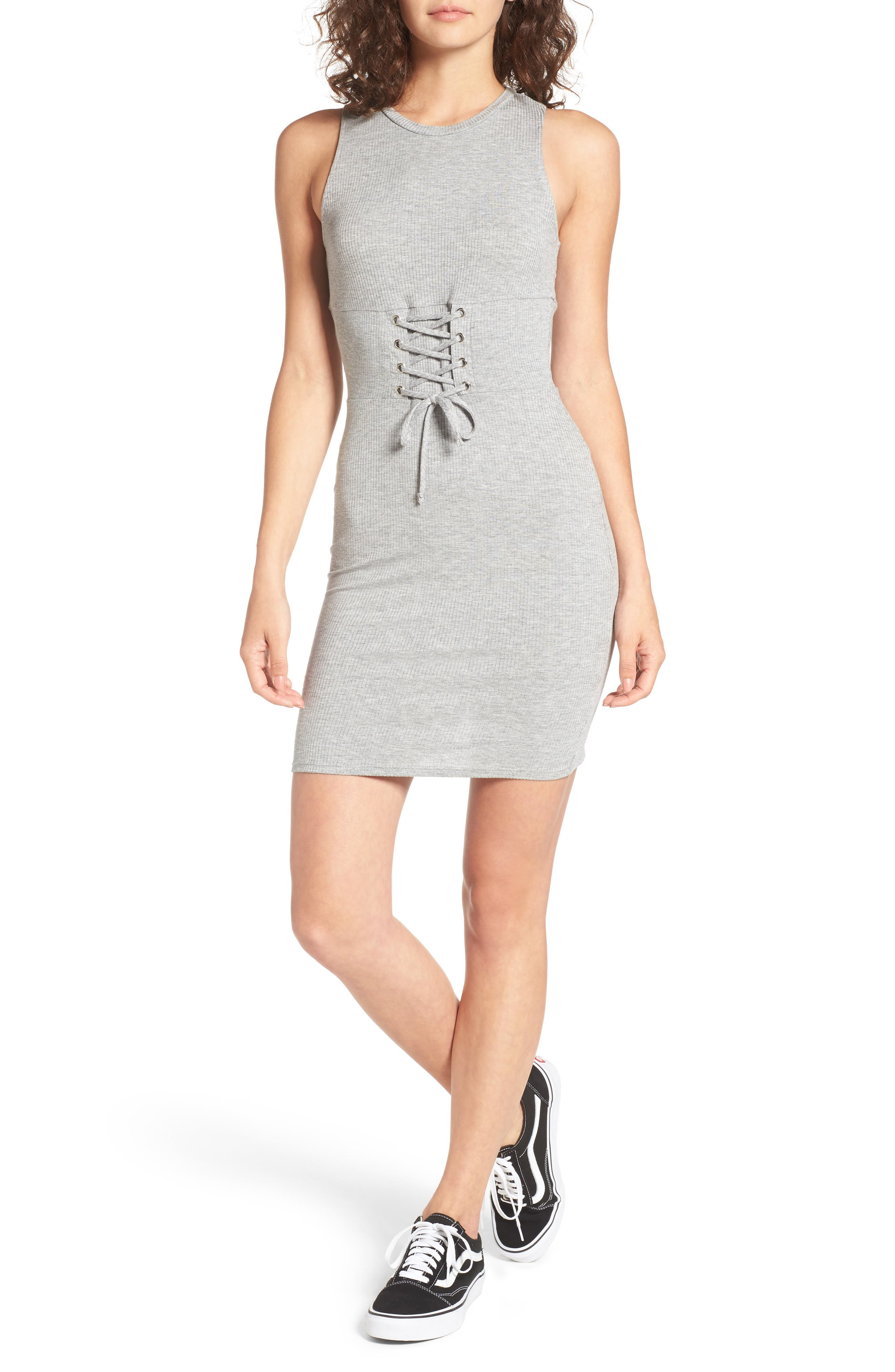 Dee Elly Corset Tank Dress