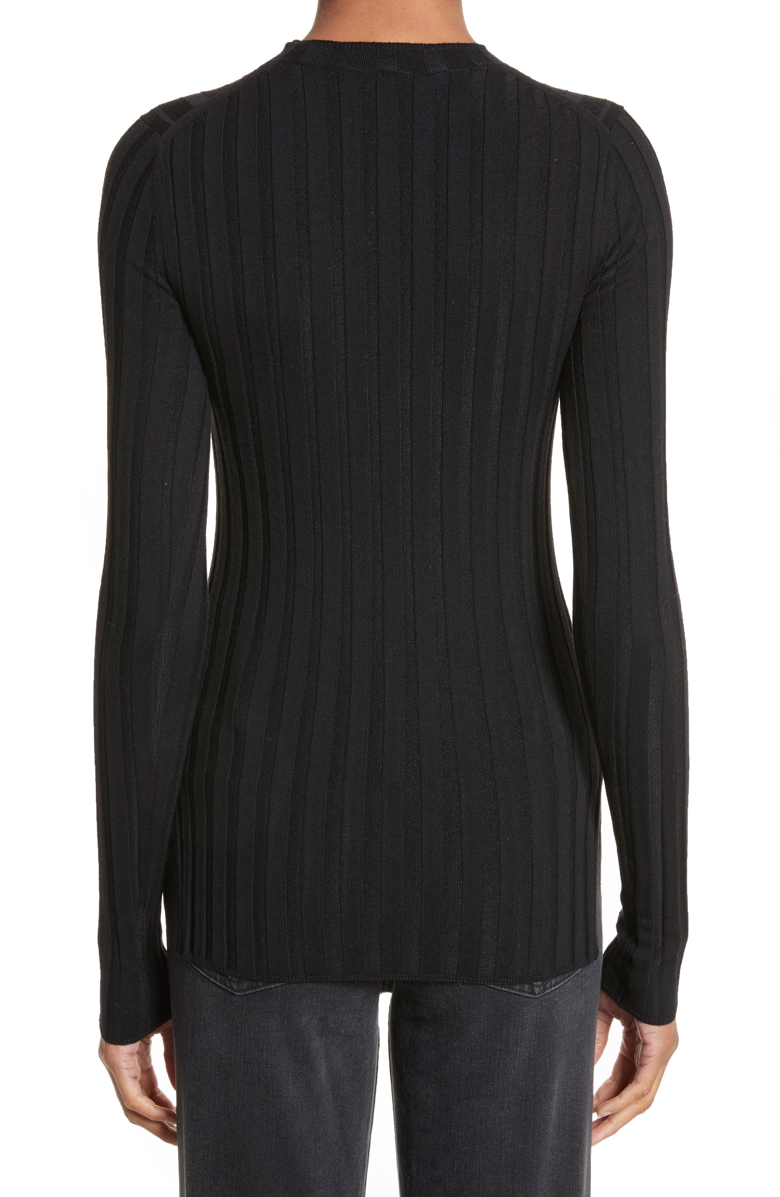 Alternate Image 2  - ACNE Studios Carina Fitted Crewneck Sweater