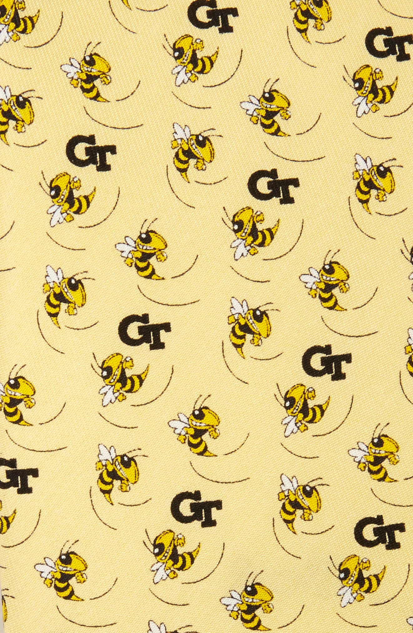 Alternate Image 2  - vineyard vines Georgia Tech Yellow Jackets Silk Tie