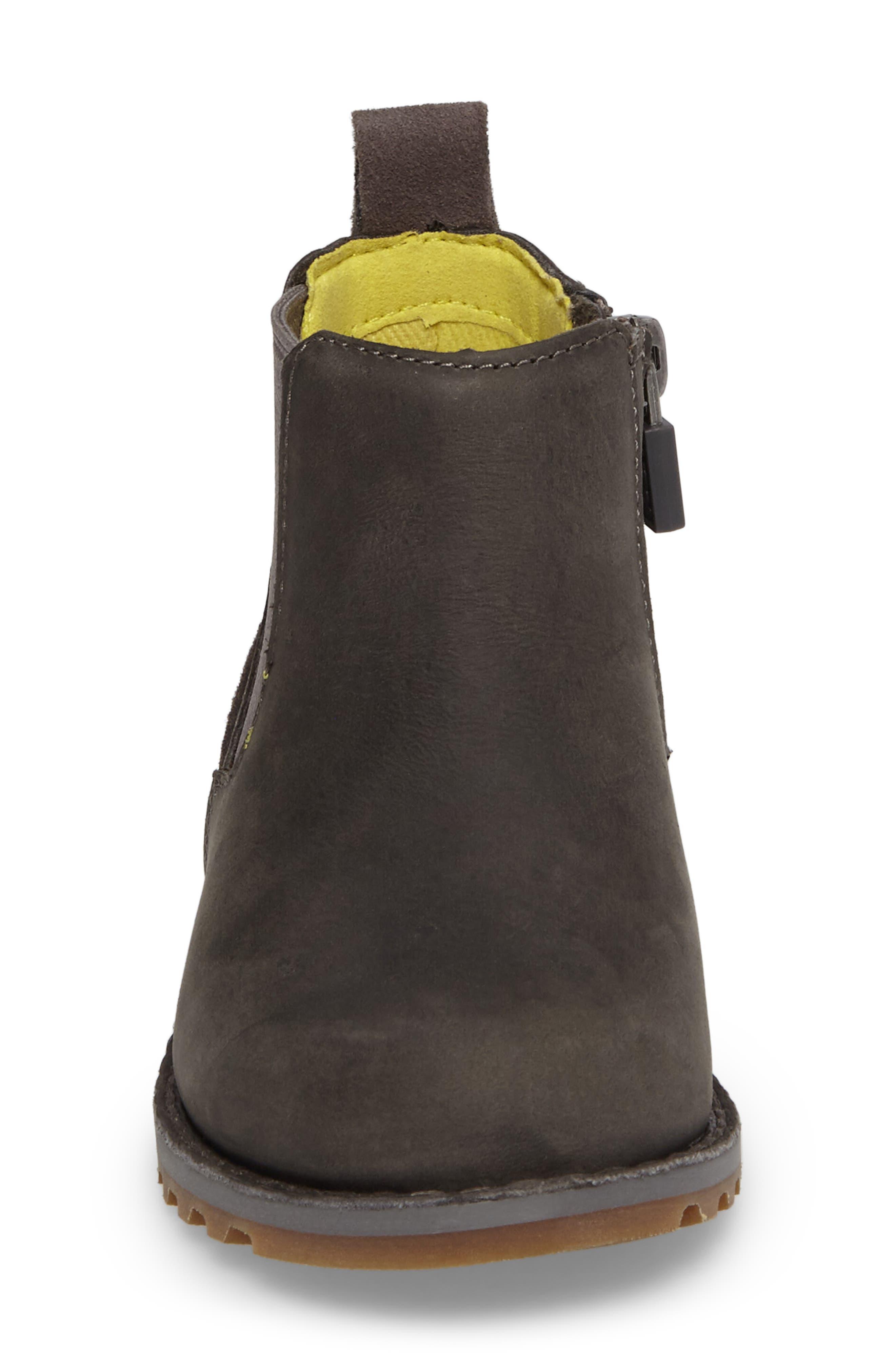 Callum Chelsea Boot,                             Alternate thumbnail 4, color,                             Charcoal