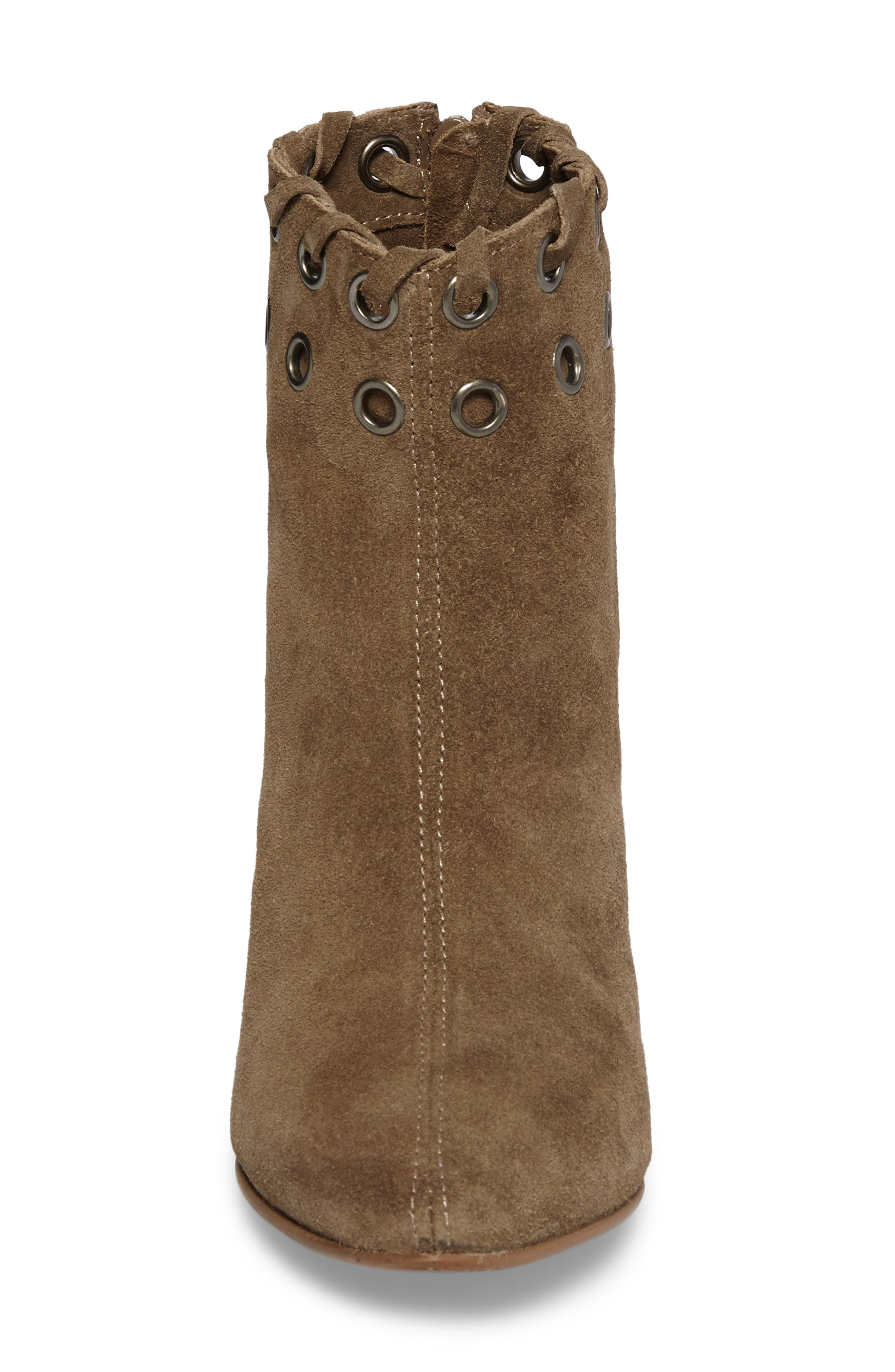 Wildcat Bootie,                             Alternate thumbnail 4, color,                             Taupe Suede