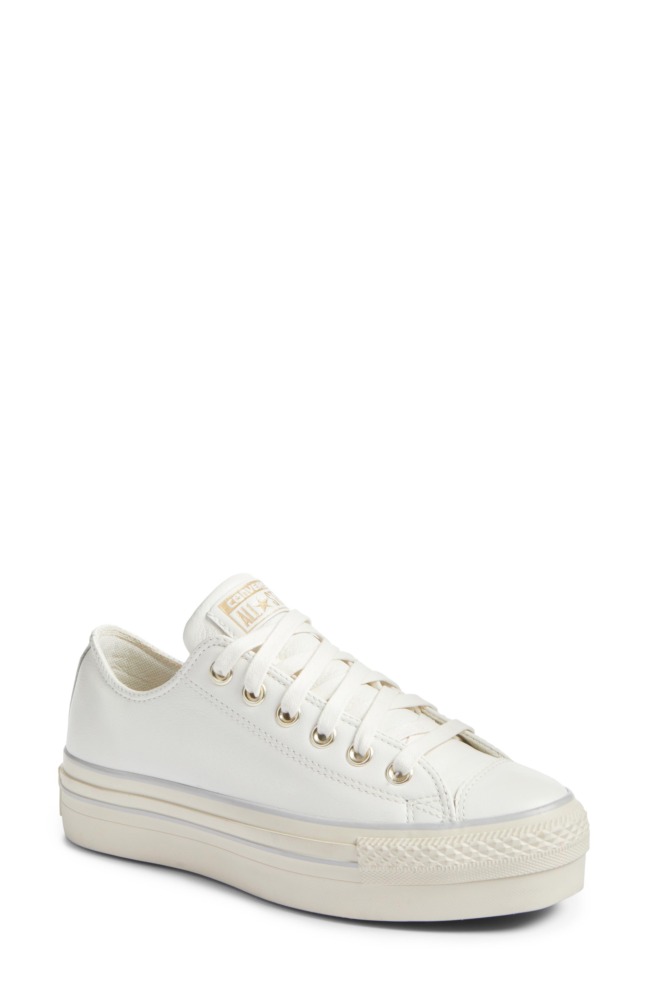 converse platform. main image - converse chuck taylor® all star® platform sneaker (women) 2