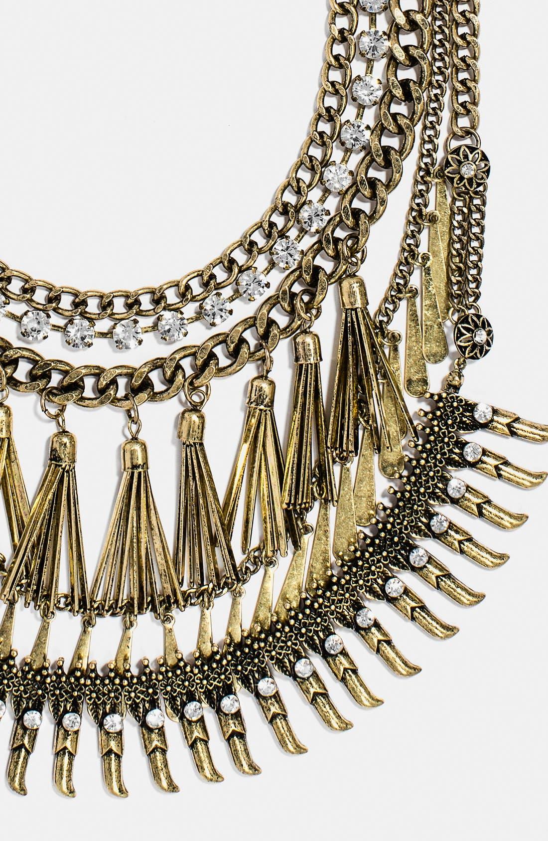 Alternate Image 2  - BaubleBar 'Amazon' Bib Necklace