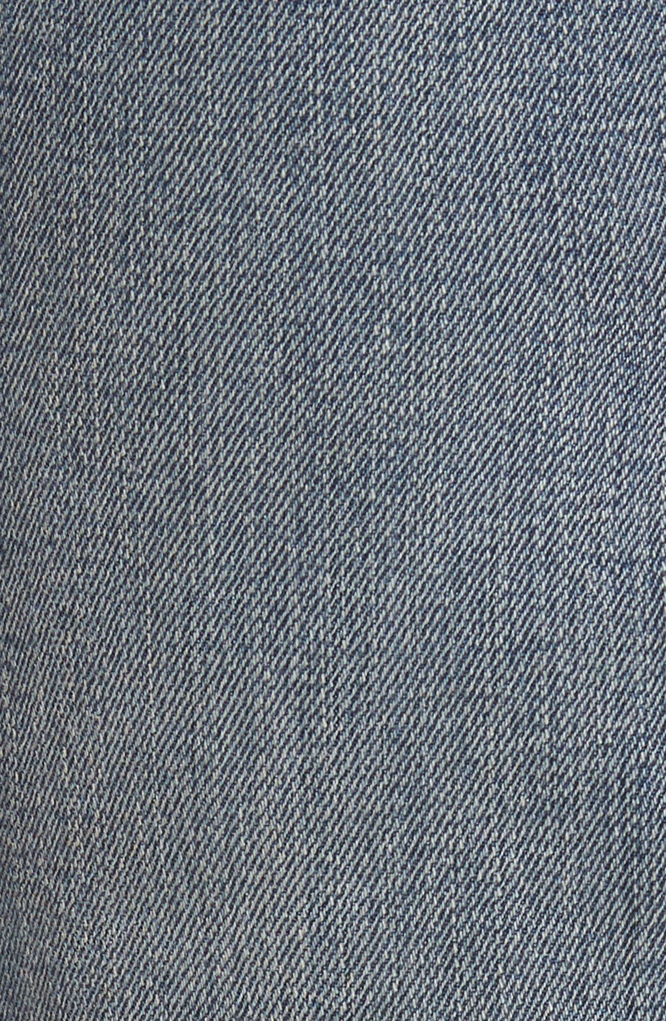 Alternate Image 5  - PARKER SMITH Ava Crop Skinny Jeans (Madeline)