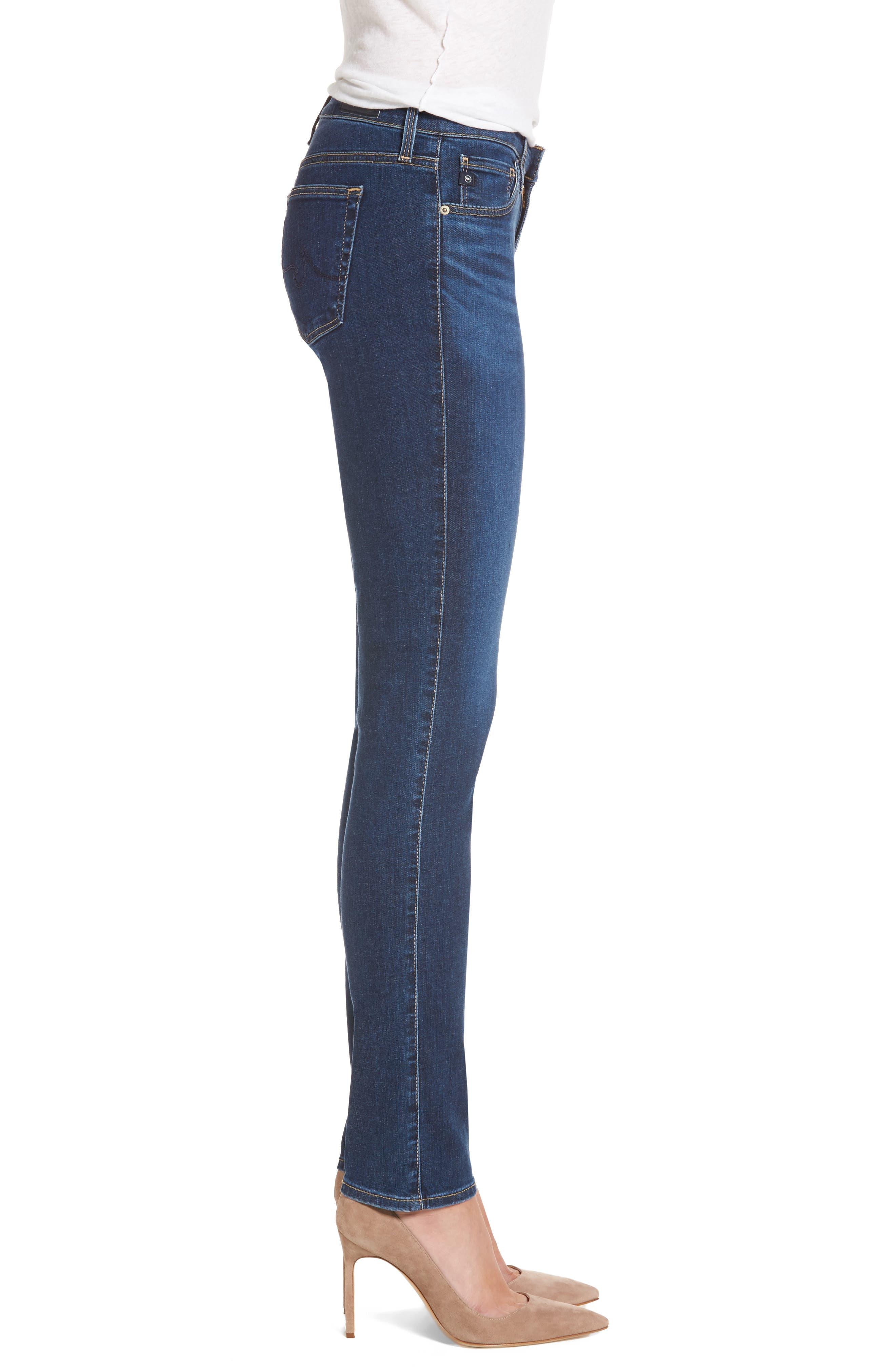 The Stilt Cigarette Leg Jeans,                             Alternate thumbnail 3, color,                             Elysium