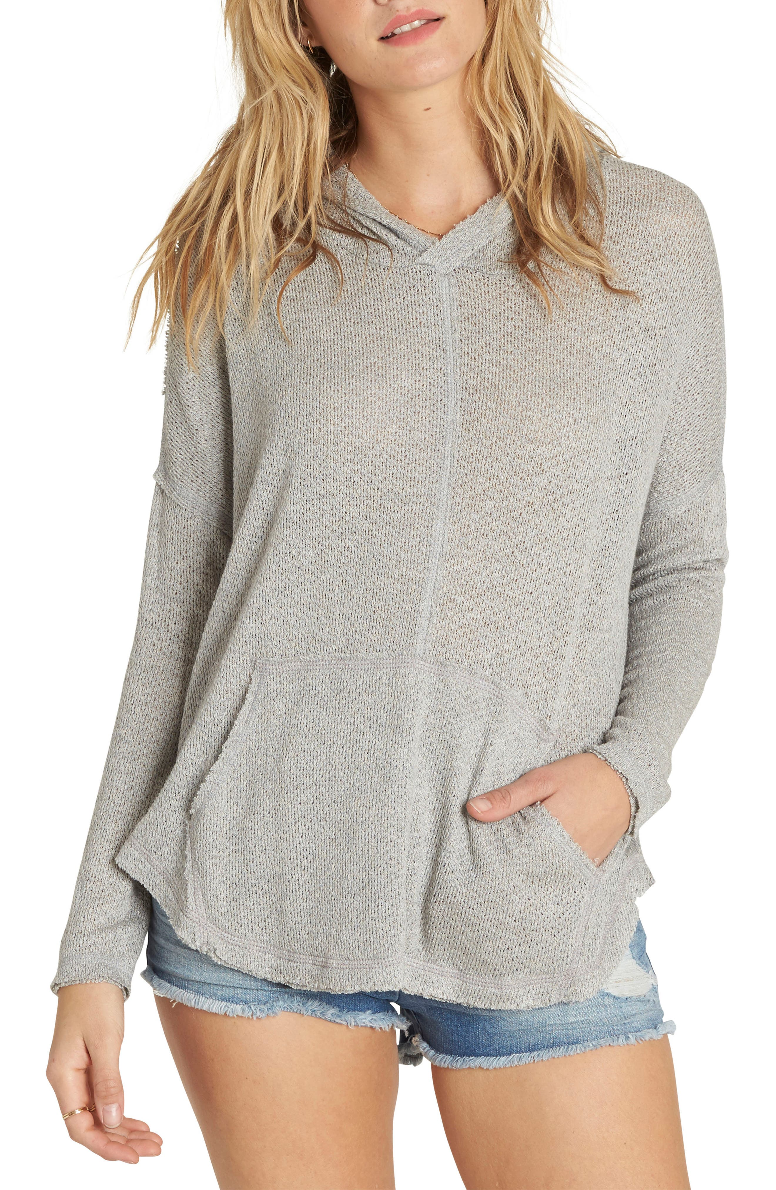These Days Hooded Top,                         Main,                         color, Dark Athletic Grey