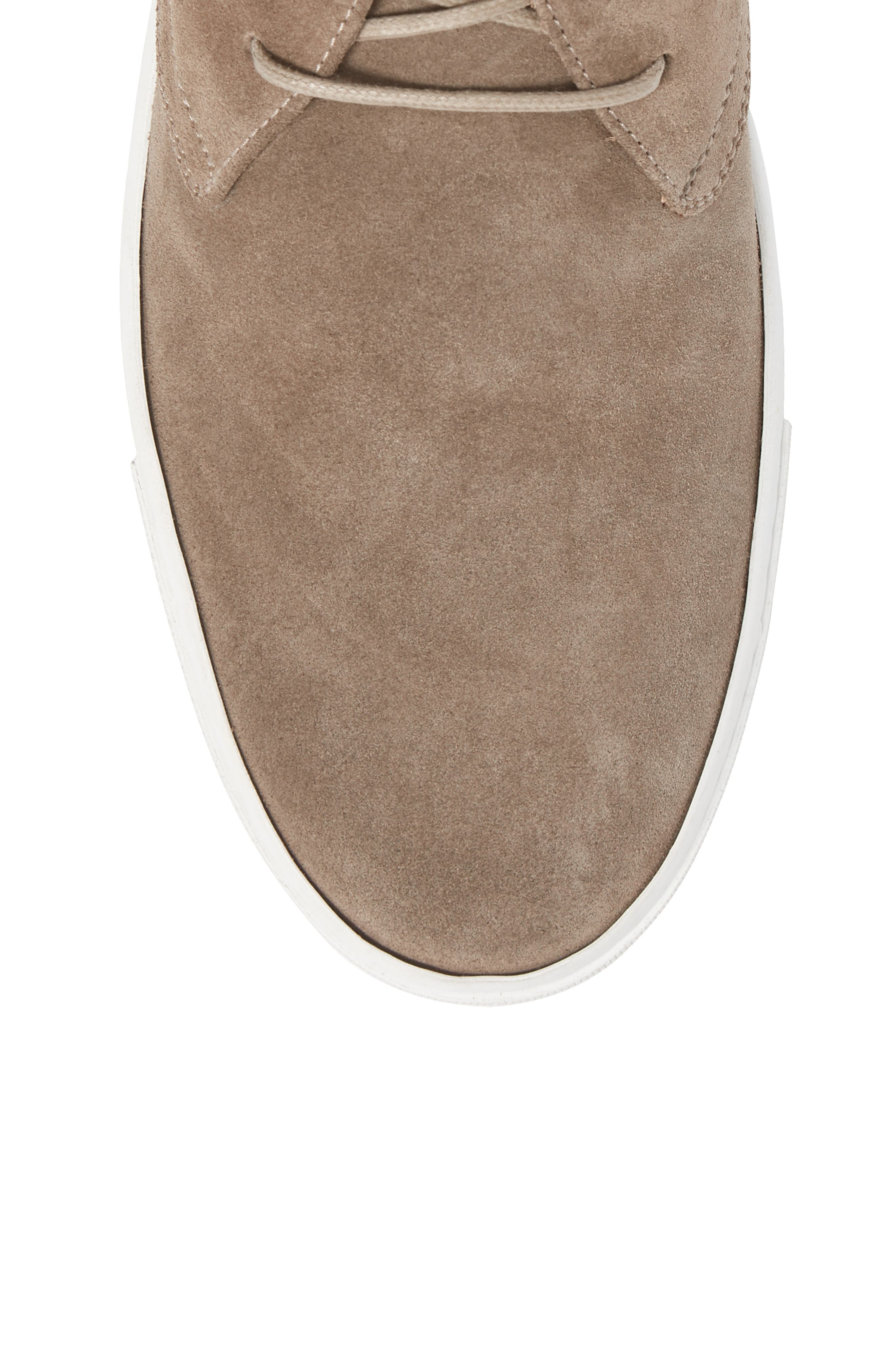 Leather Chukka Boot,                             Alternate thumbnail 5, color,                             Brown Suede