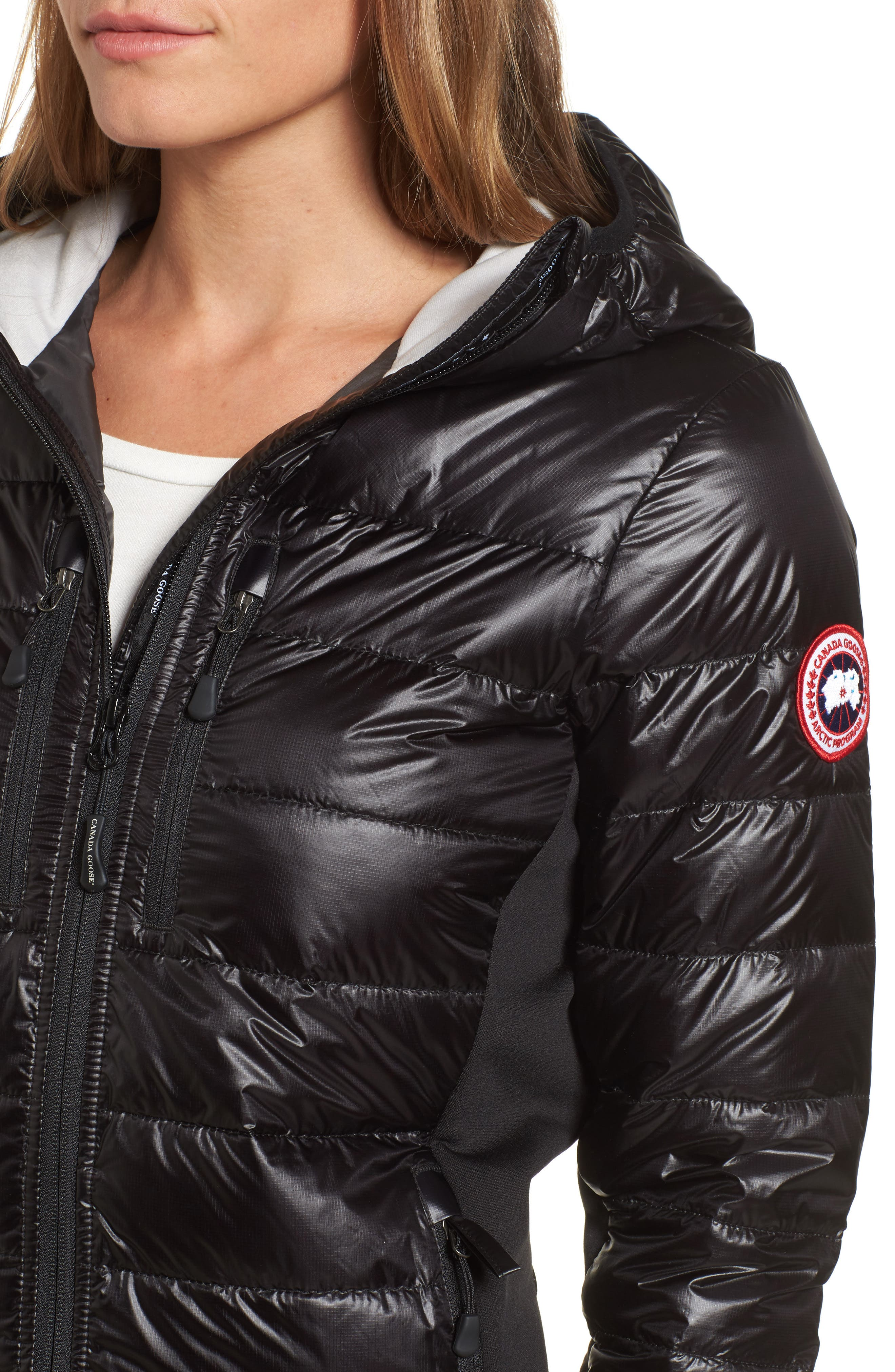 Alternate Image 4  - Canada Goose 'Hybridge Lite' Slim Fit Hooded Packable Down Jacket (Online Only)