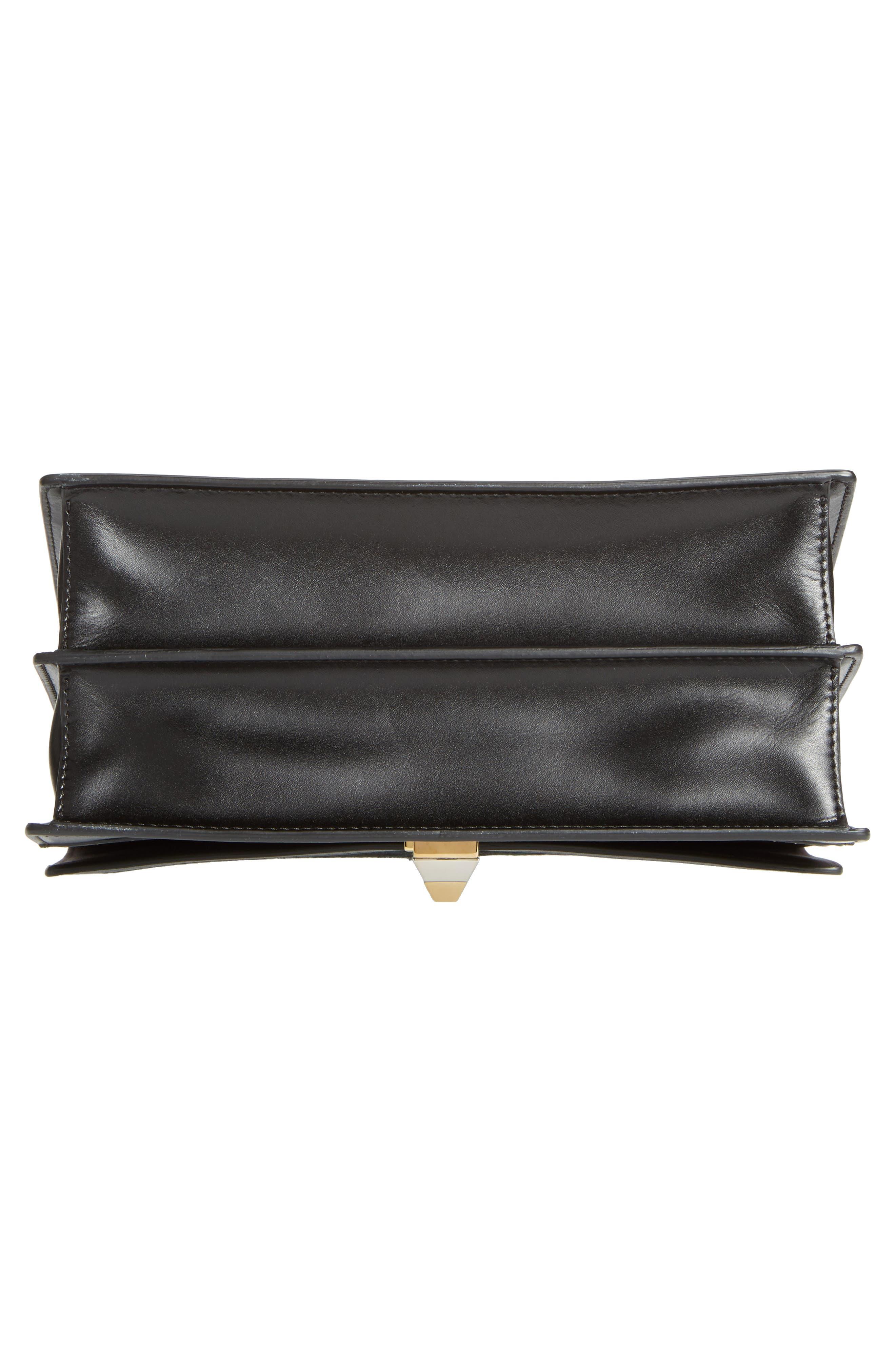 Alternate Image 5  - Fendi Kan I Genuine Calf Hair & Leather Shoulder Bag