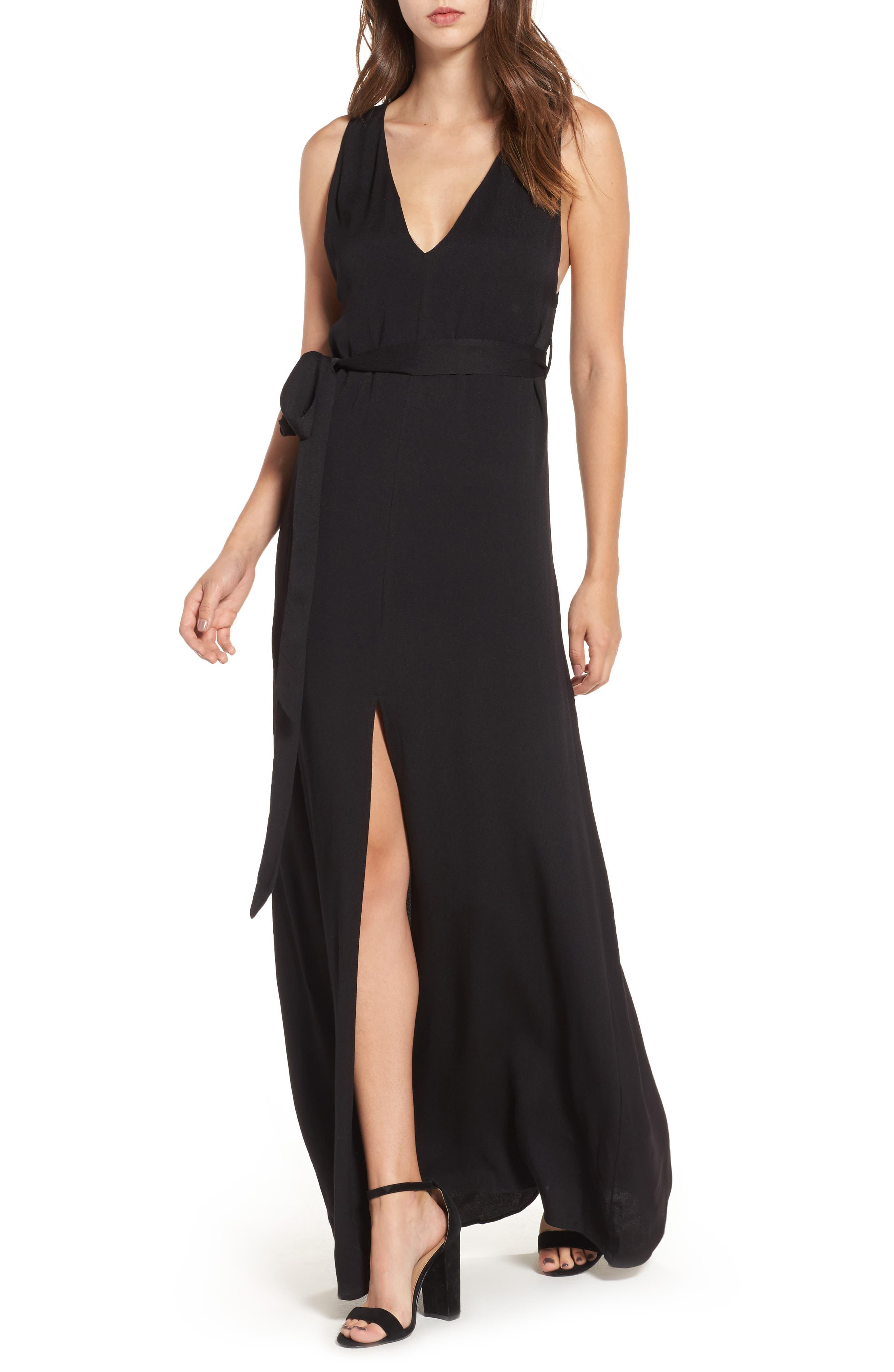 Alternate Image 1 Selected - AFRM Rowan Maxi Dress