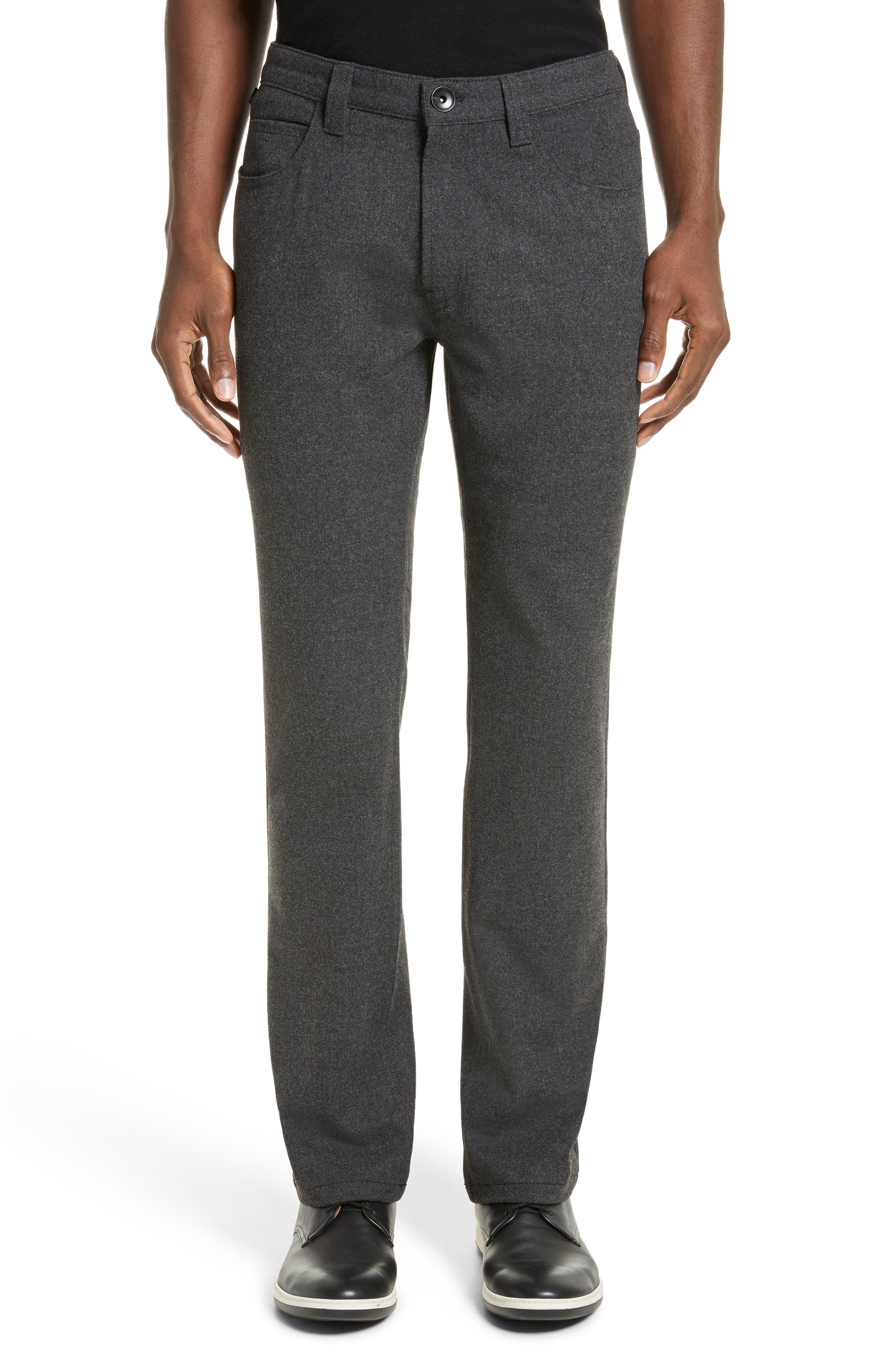Flannel Sport Pants,                         Main,                         color, Grey