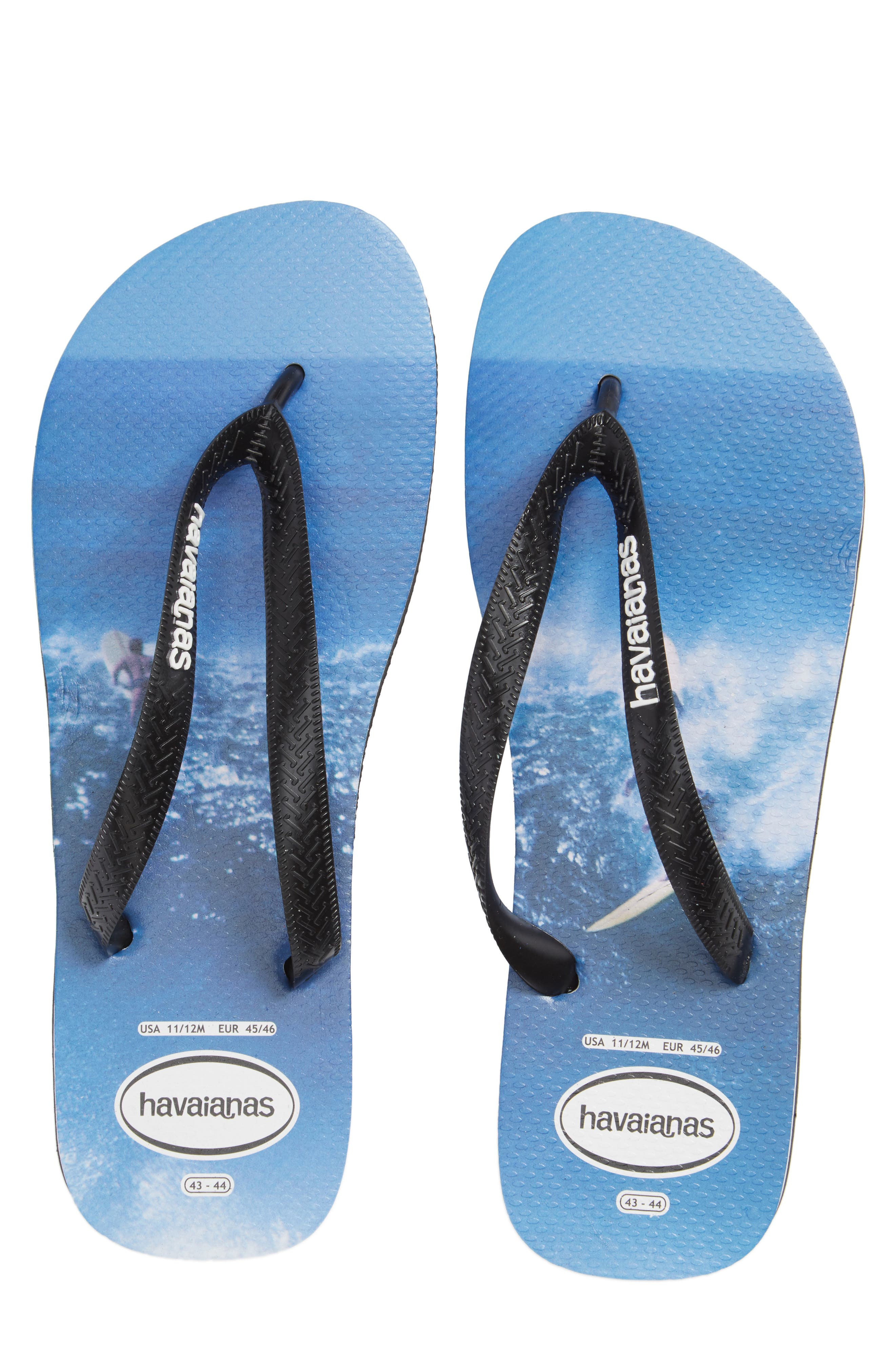 Alternate Image 4  - Havaianas Top Photo Print Flip Flop (Men)