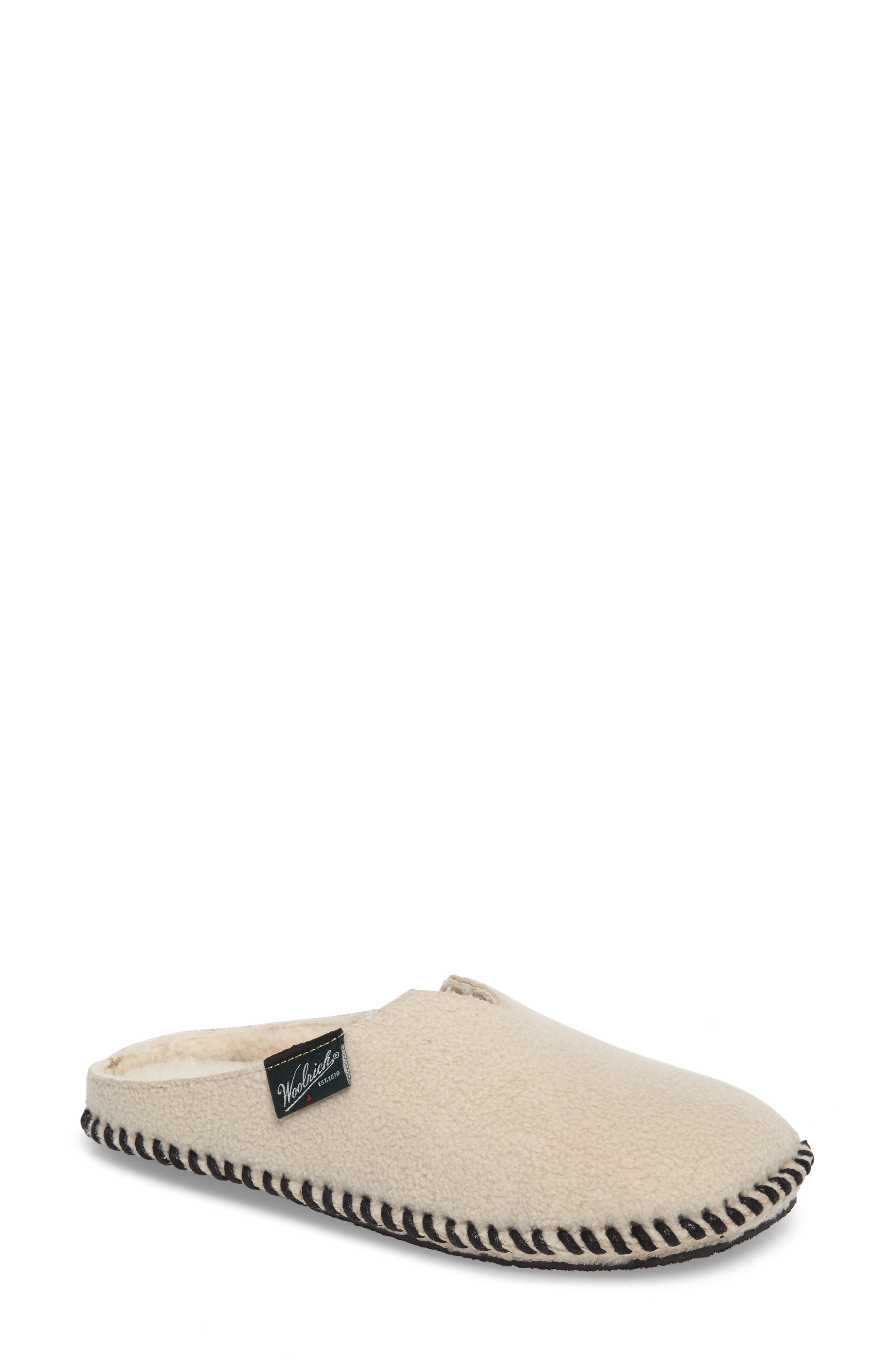 Woolrich Mill Fleece Scuff Slipper (Women)